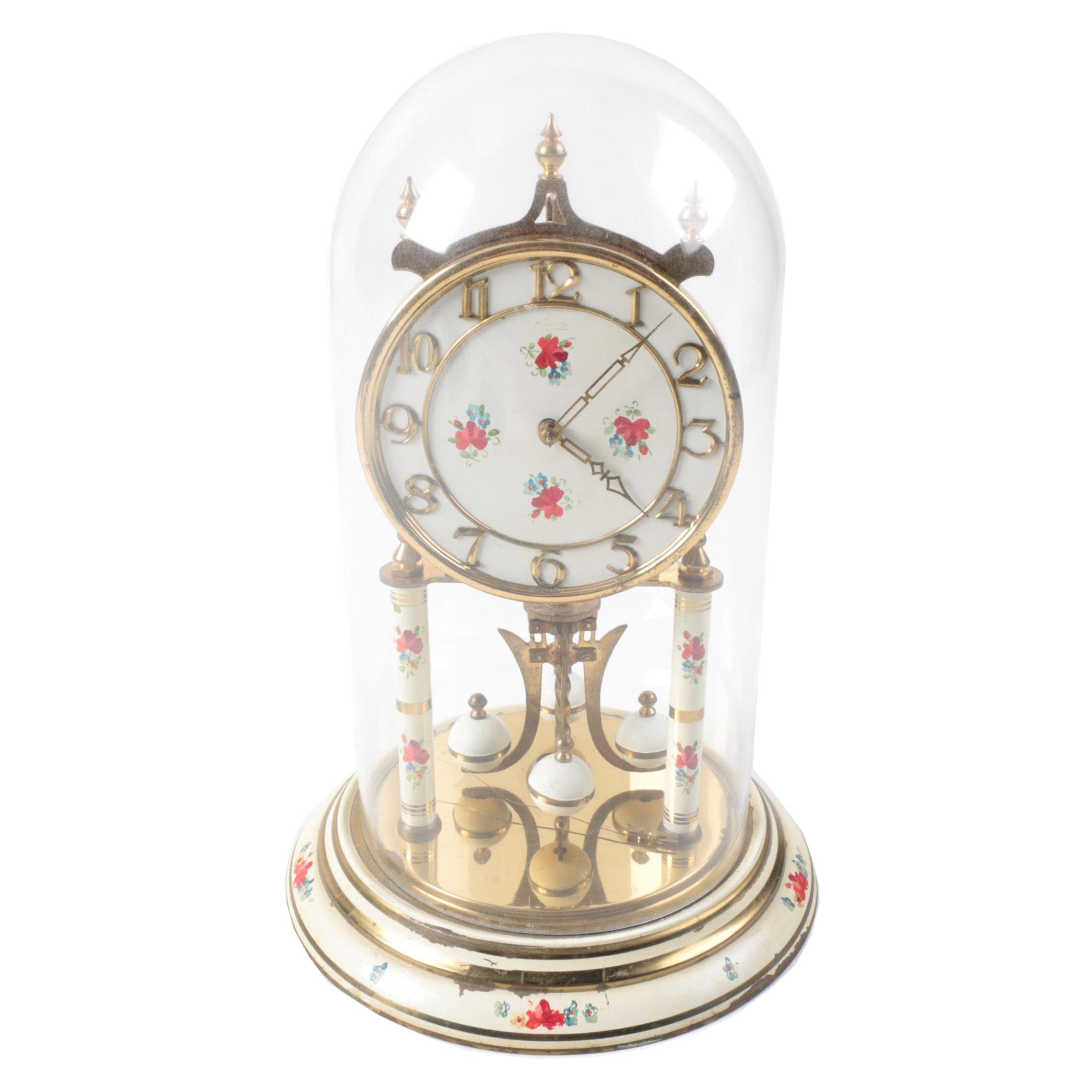 Kundo Hand Painted Anniversary Clock