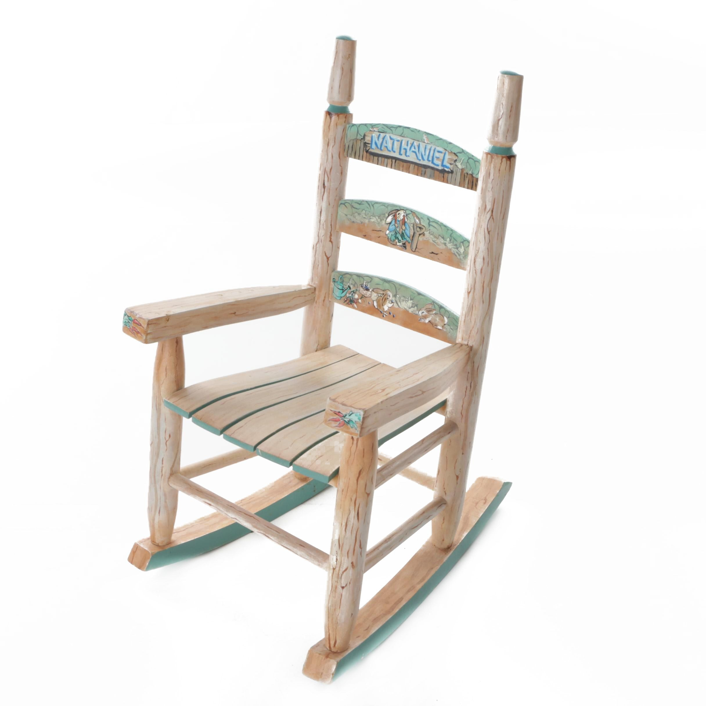 Childs Wood Rocking Chair ...