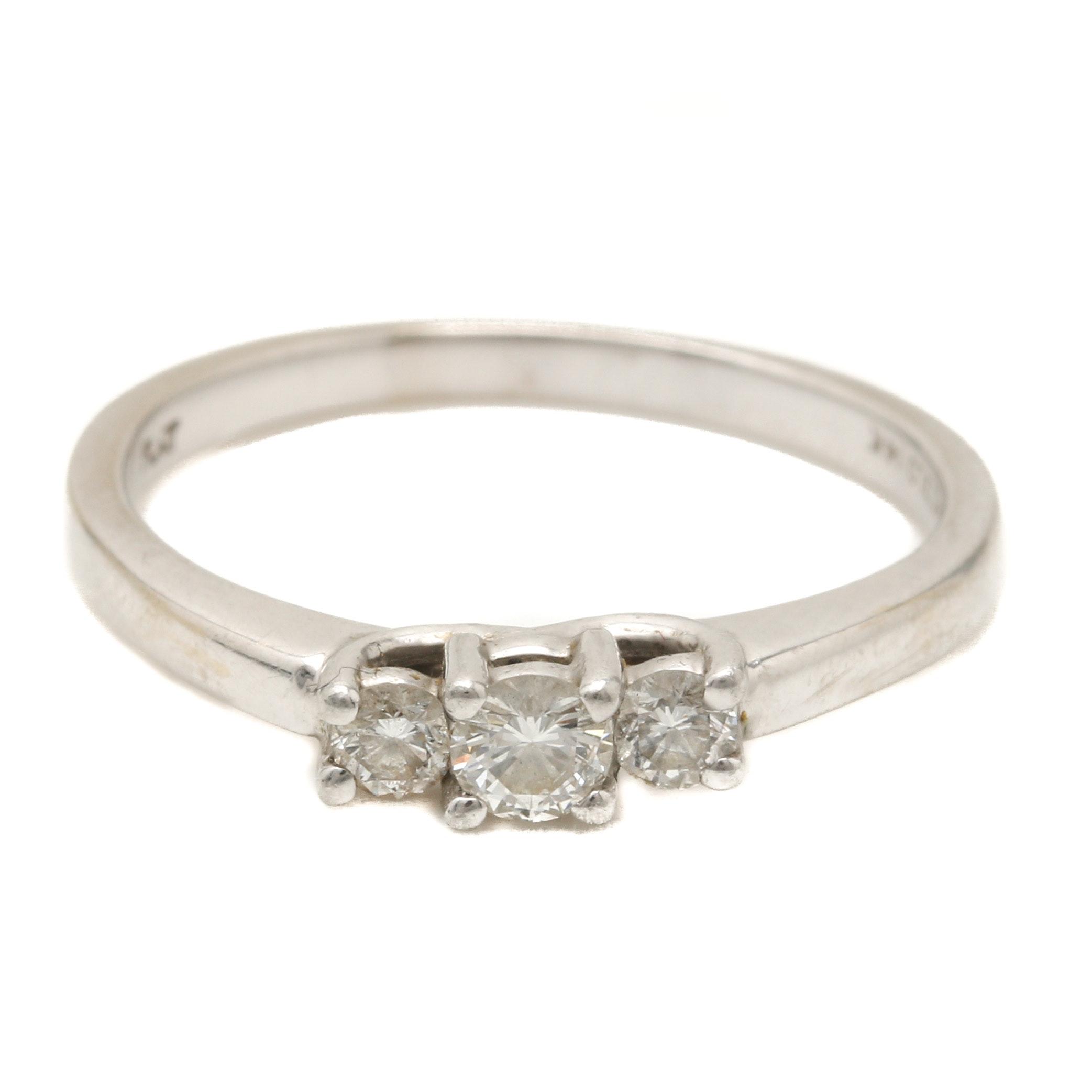 Magic Glo 14K White Gold Diamond Ring