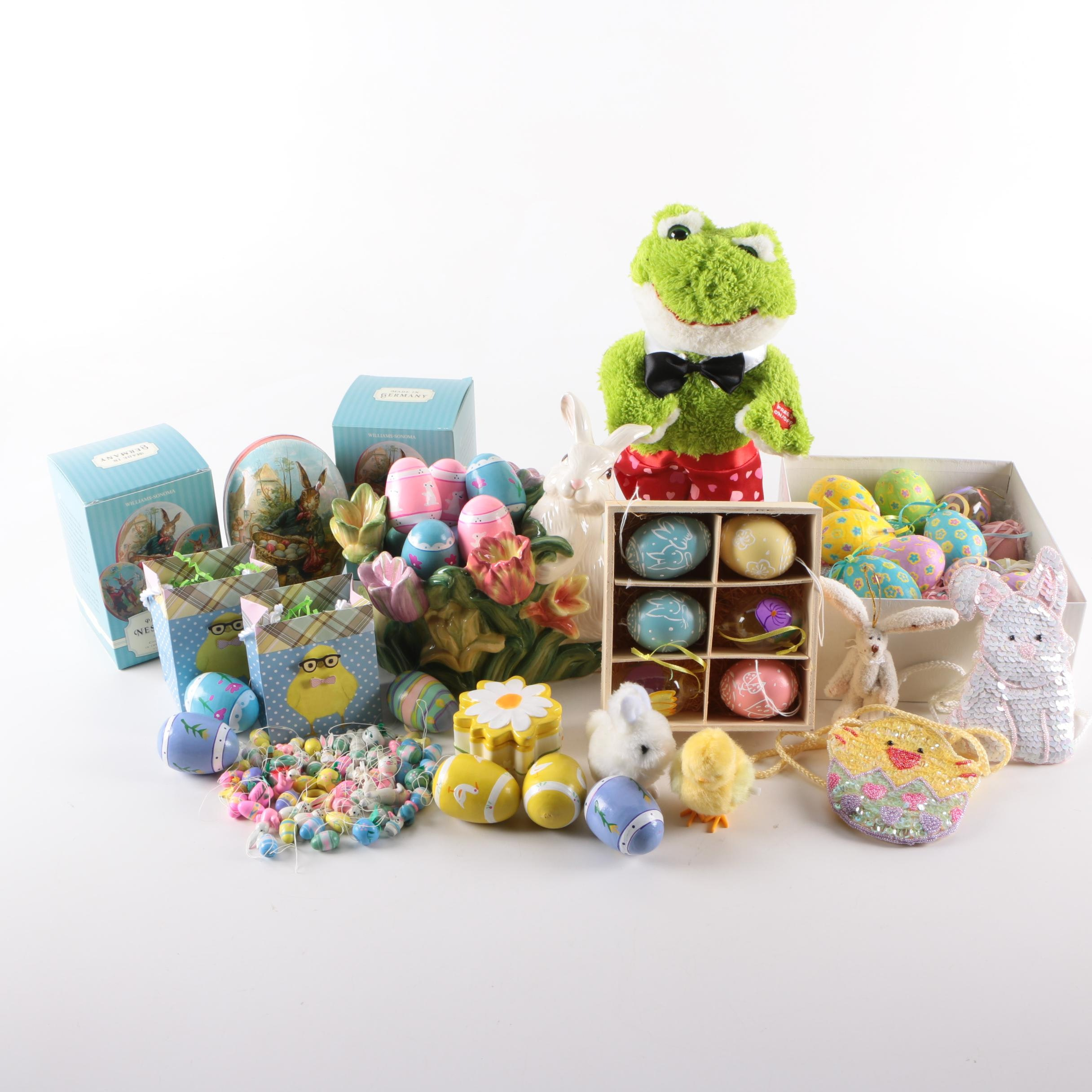 Easter Eggs and Holiday Decorations Including Williams-Sonoma
