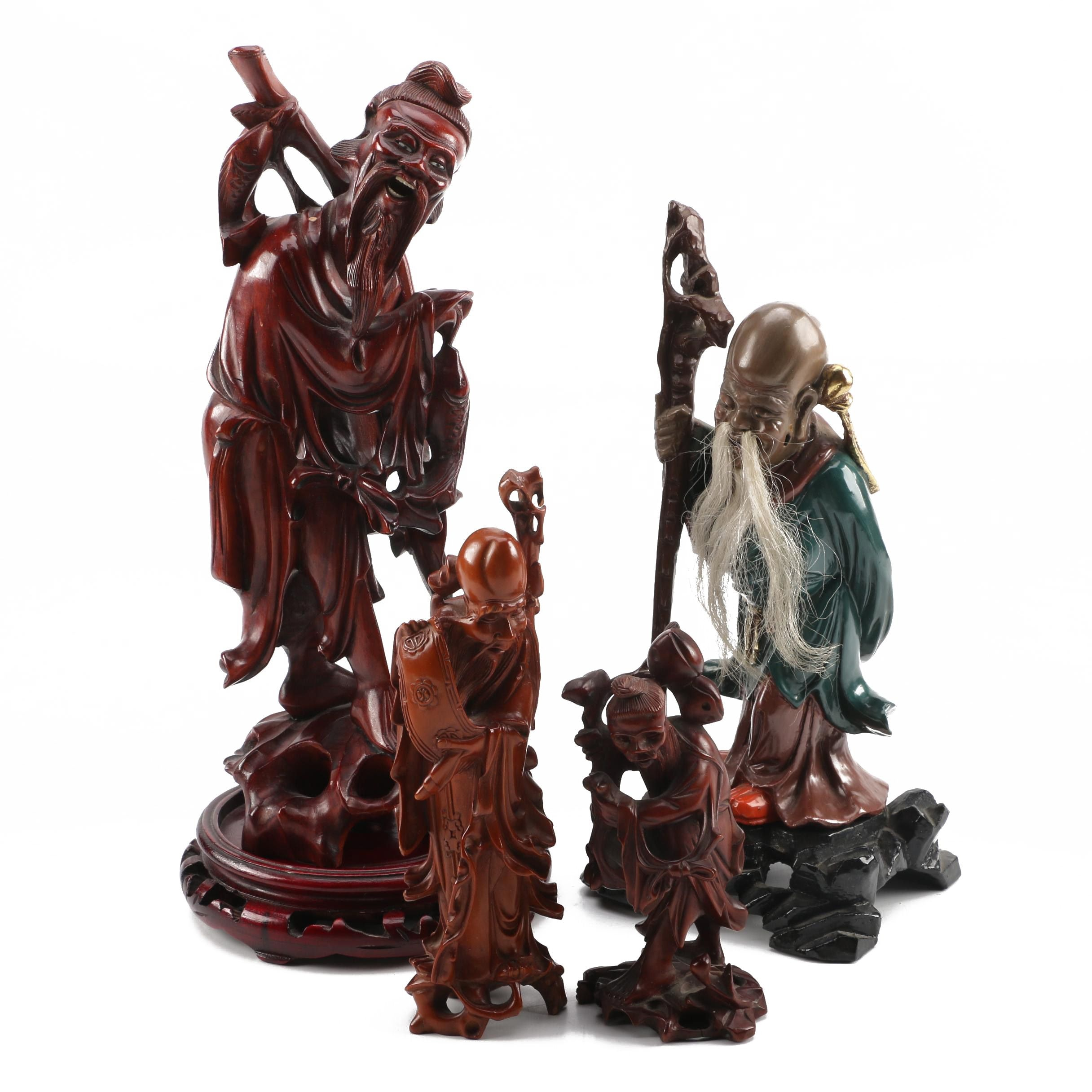 Chinese Carvings and Figurines