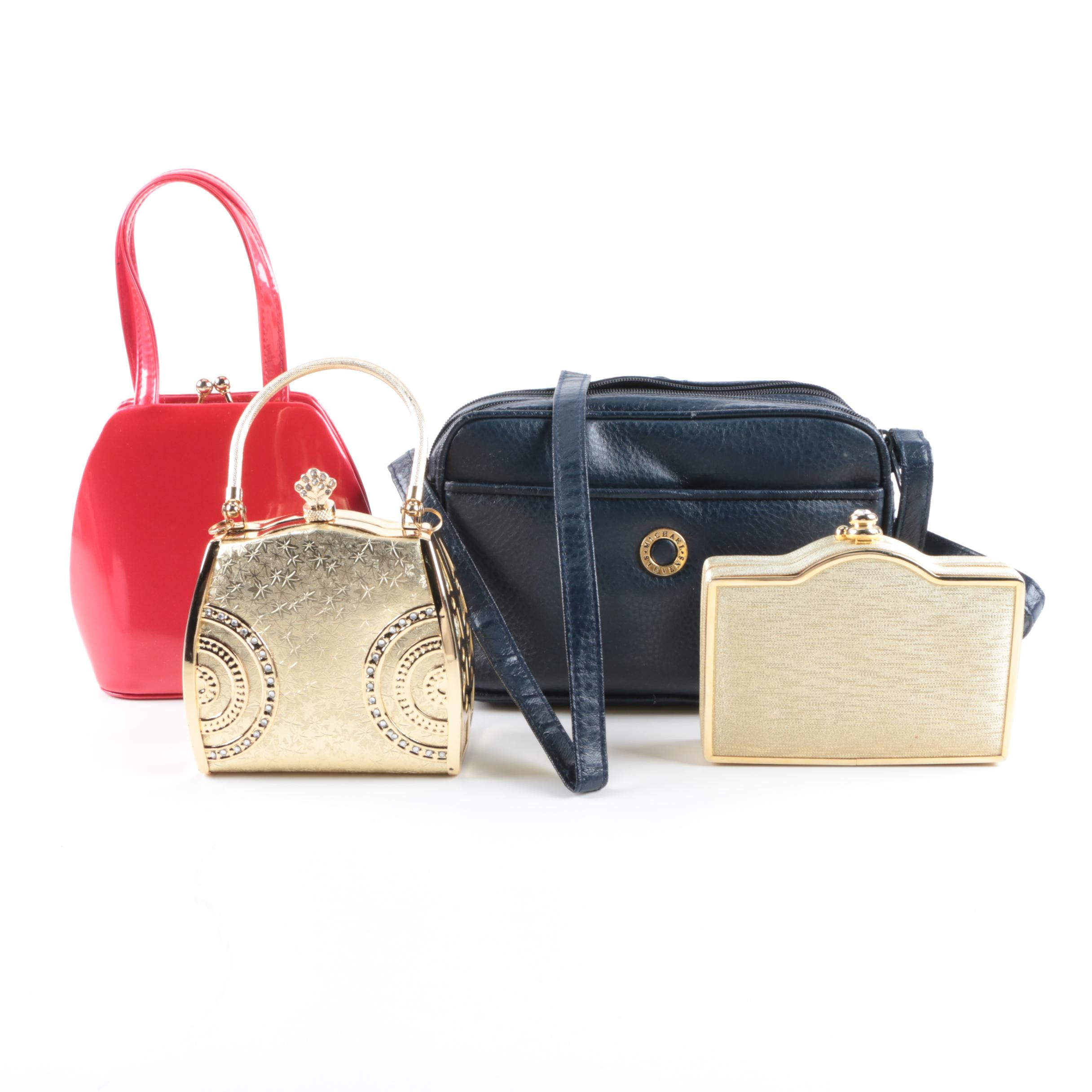 Evening Bags and Blue Crossbody Bag