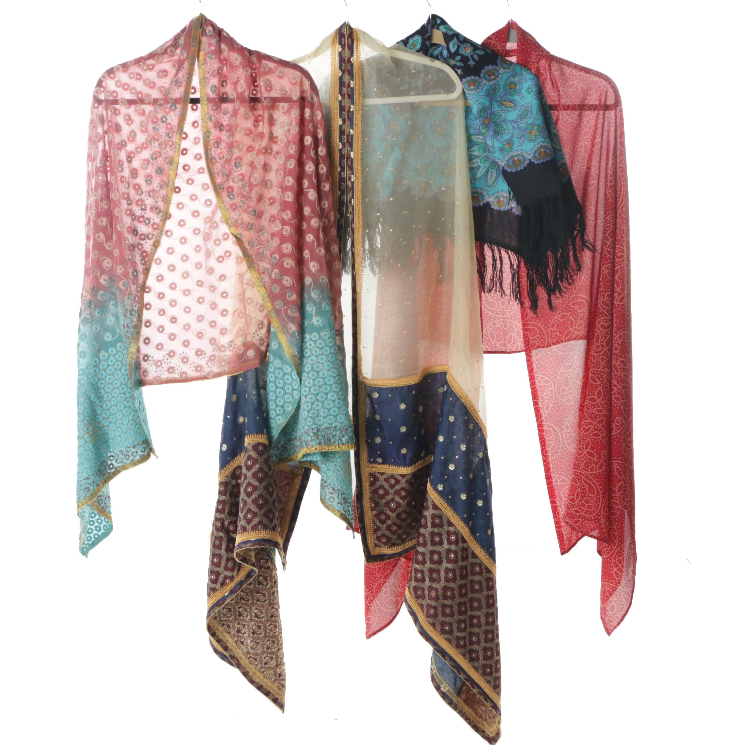 Culturally Inspired Scarves and Wrap