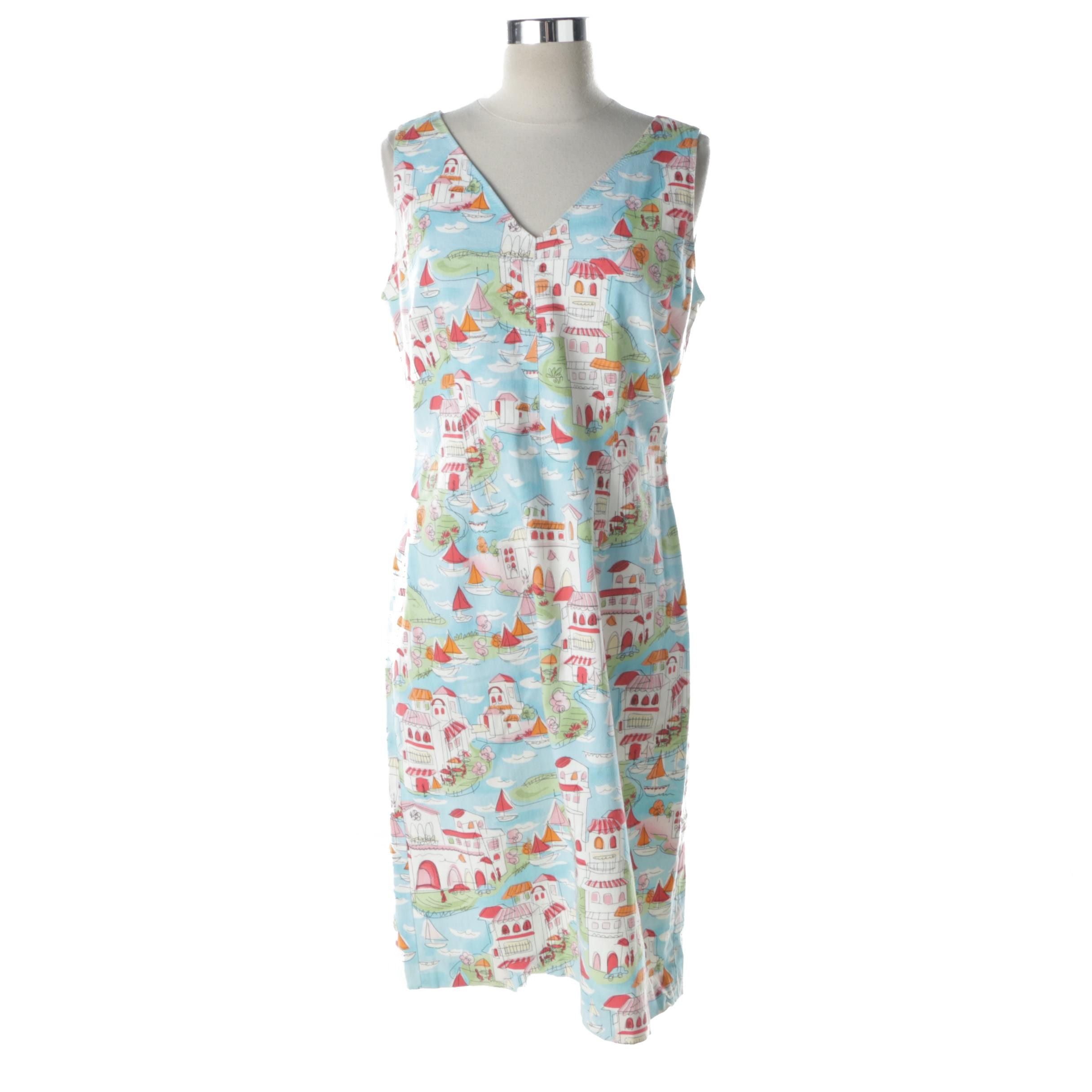 Women's Talbots Petites Sleeveless Dress