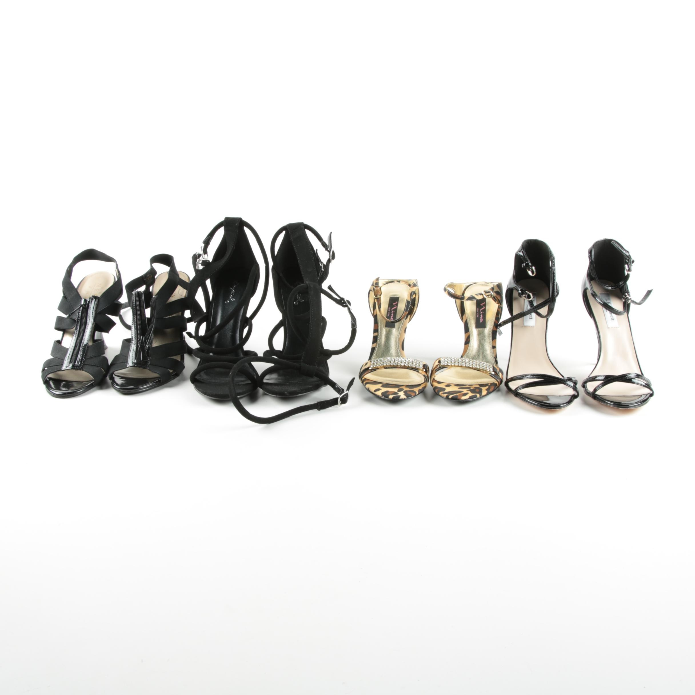 Women's High Heeled Sandals, Including Nina New York