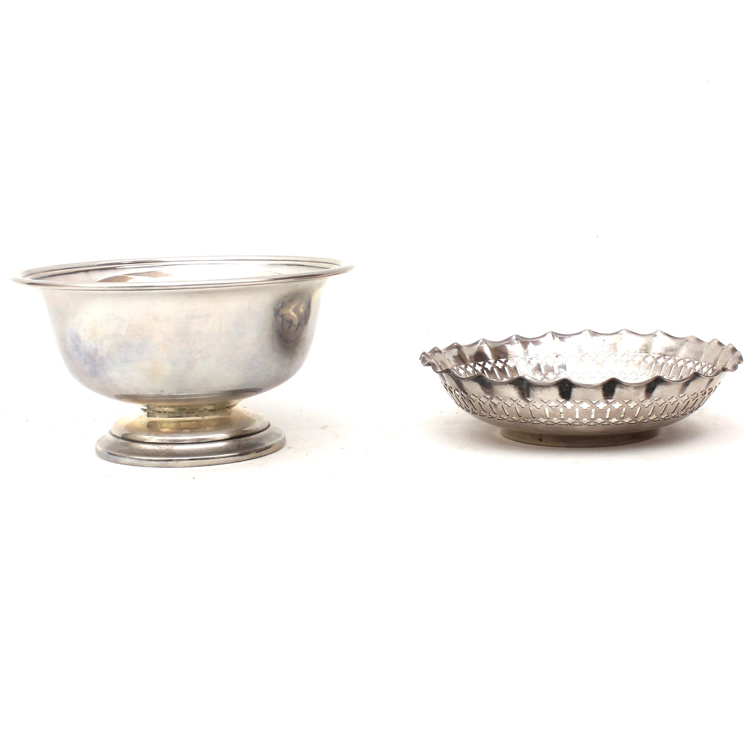 Vintage Sterling Silver Candy Dishes