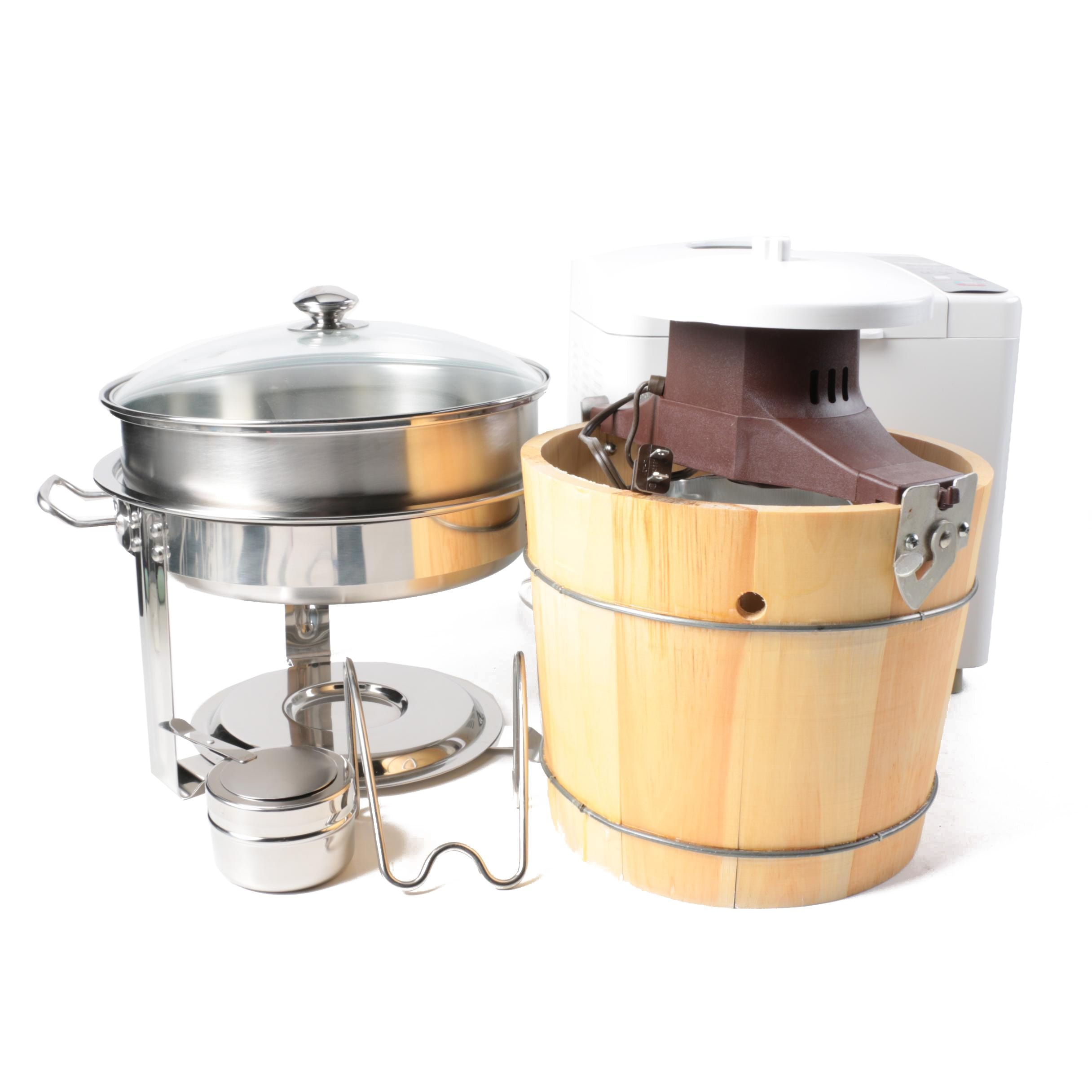 Kitchen Appliances Featuring Rival Ice Cream Maker