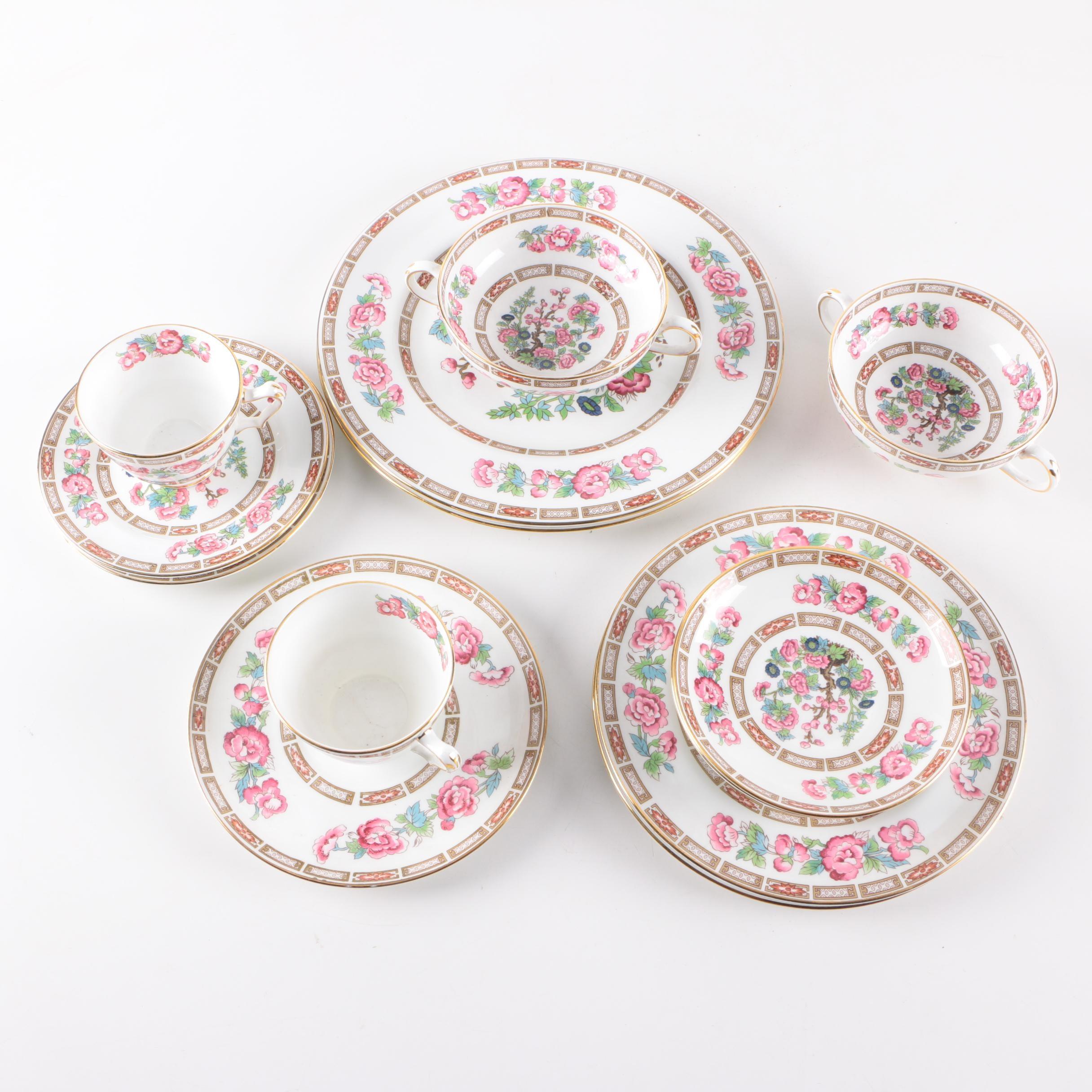 Mid-Century Crown Staffordshire Bone China Tableware