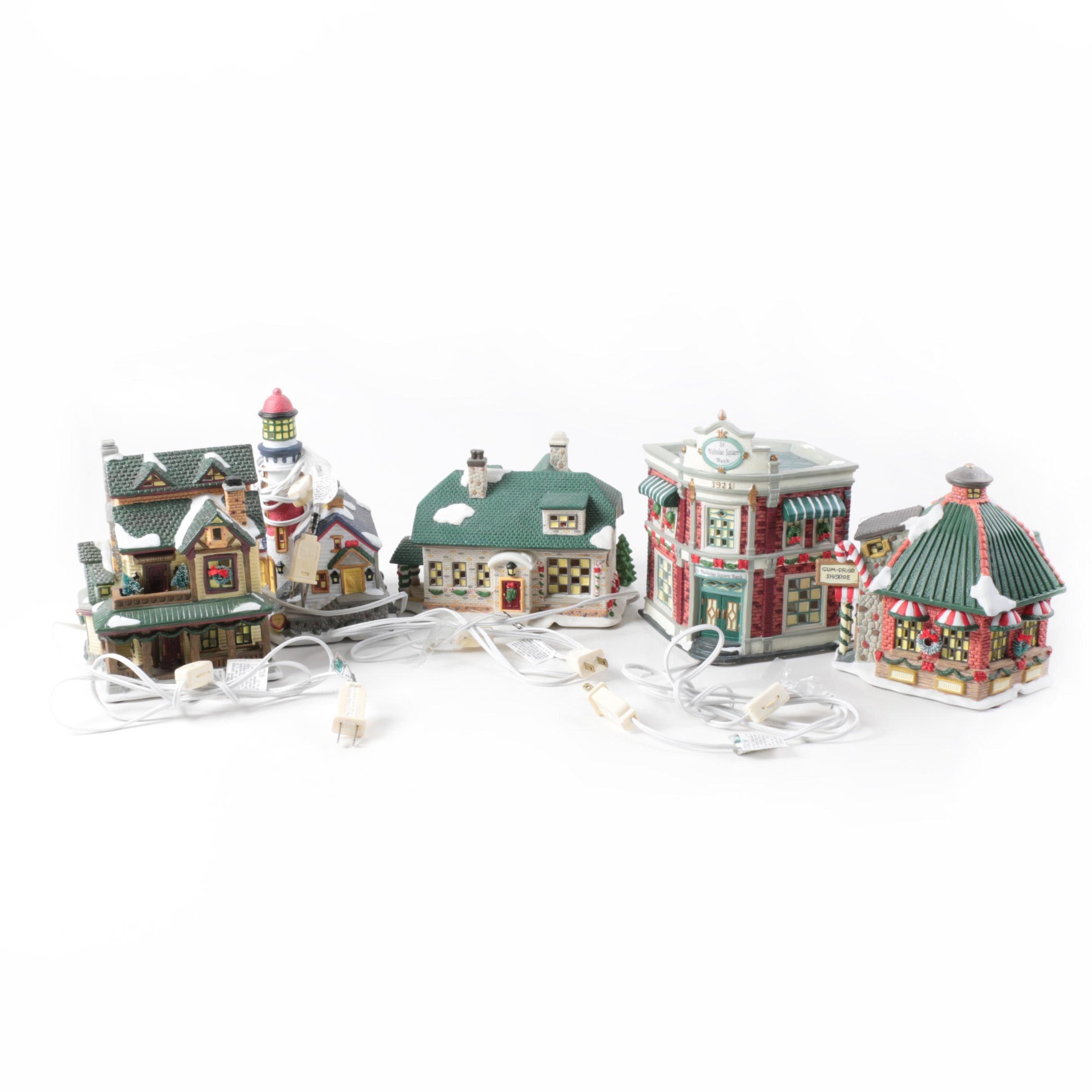 St. Nicholas Square Christmas Village