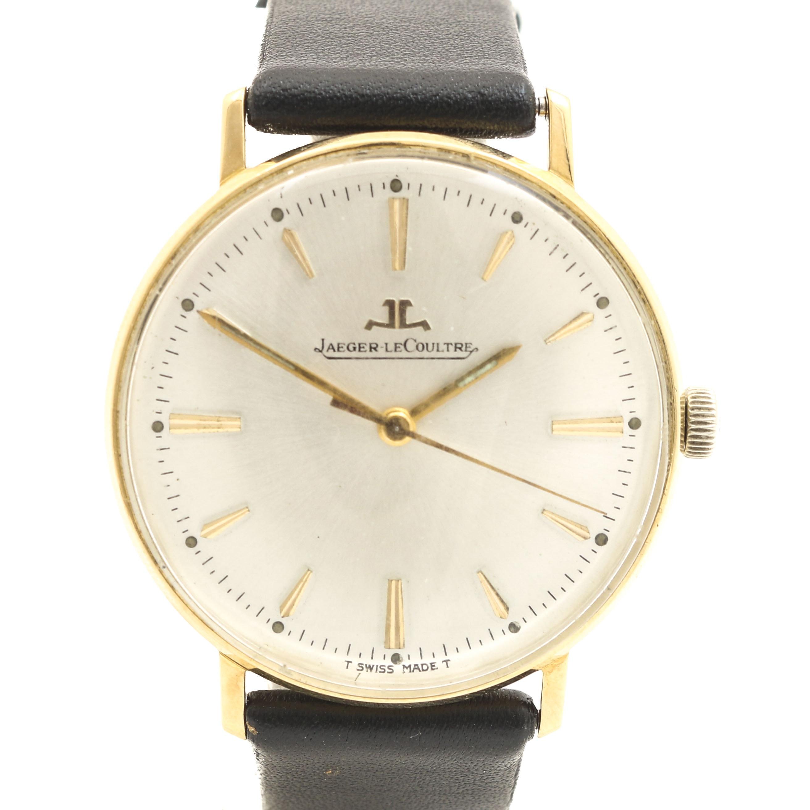 Jaeger LeCoultre 18K Yellow Gold Wristwatch