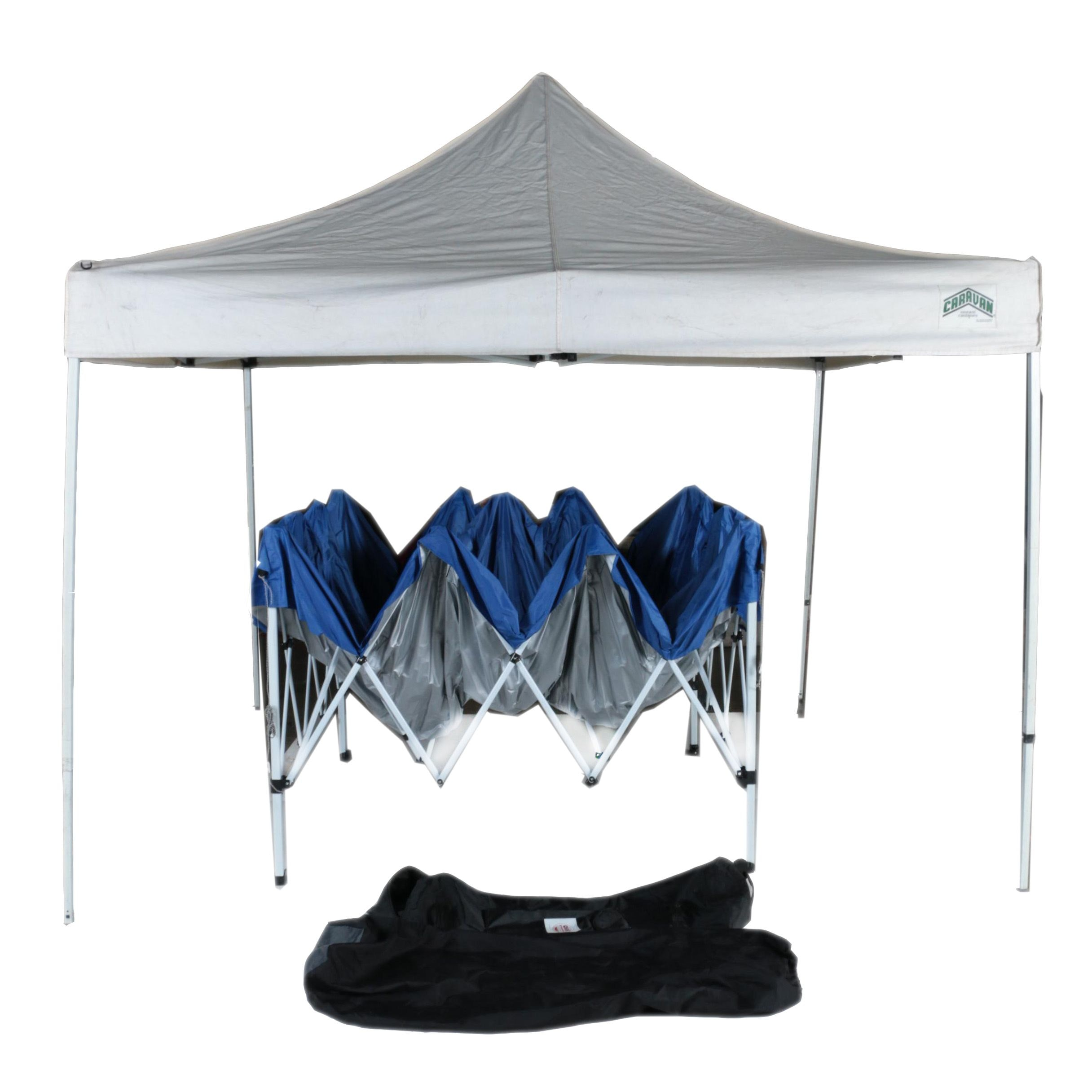 First-Up and E-Z Up Folding Instant Shelter Canopies