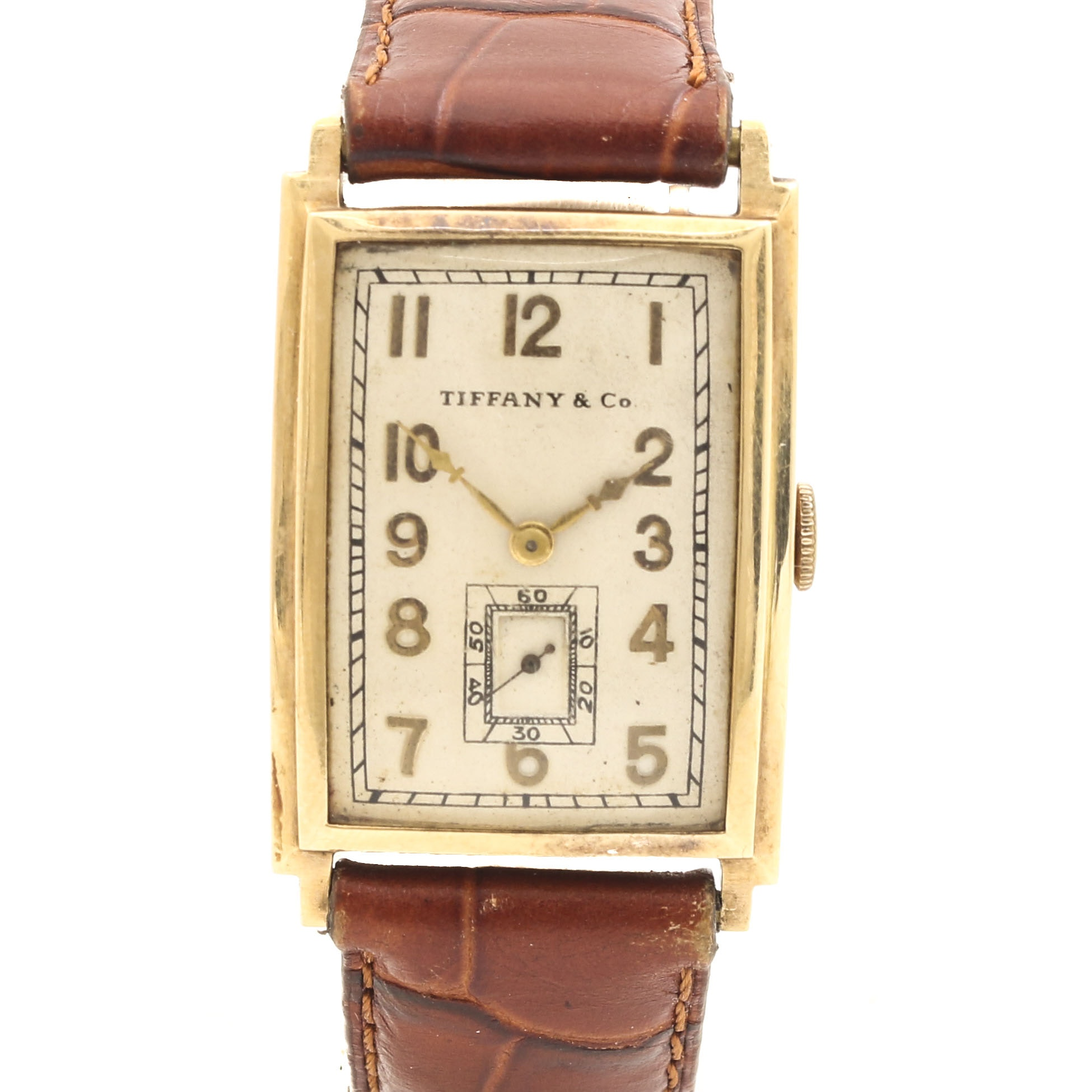 Tiffany & Co. by Longines 14K Yellow Gold Wristwatch
