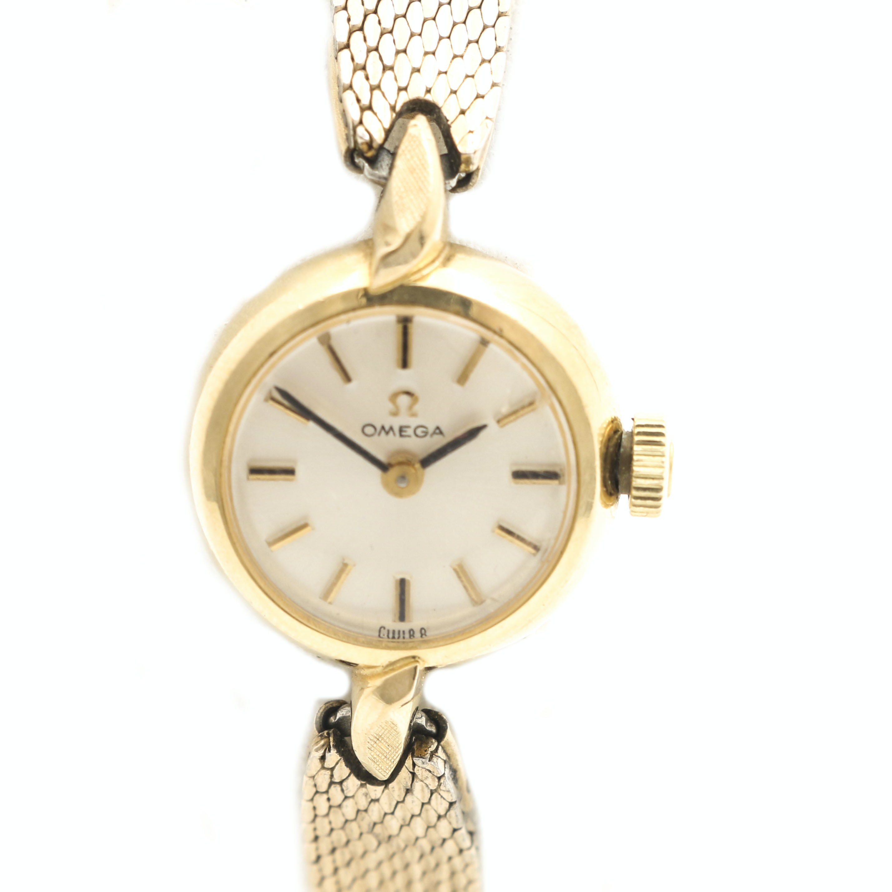 Omega 14K Gold Filled Wristwatch