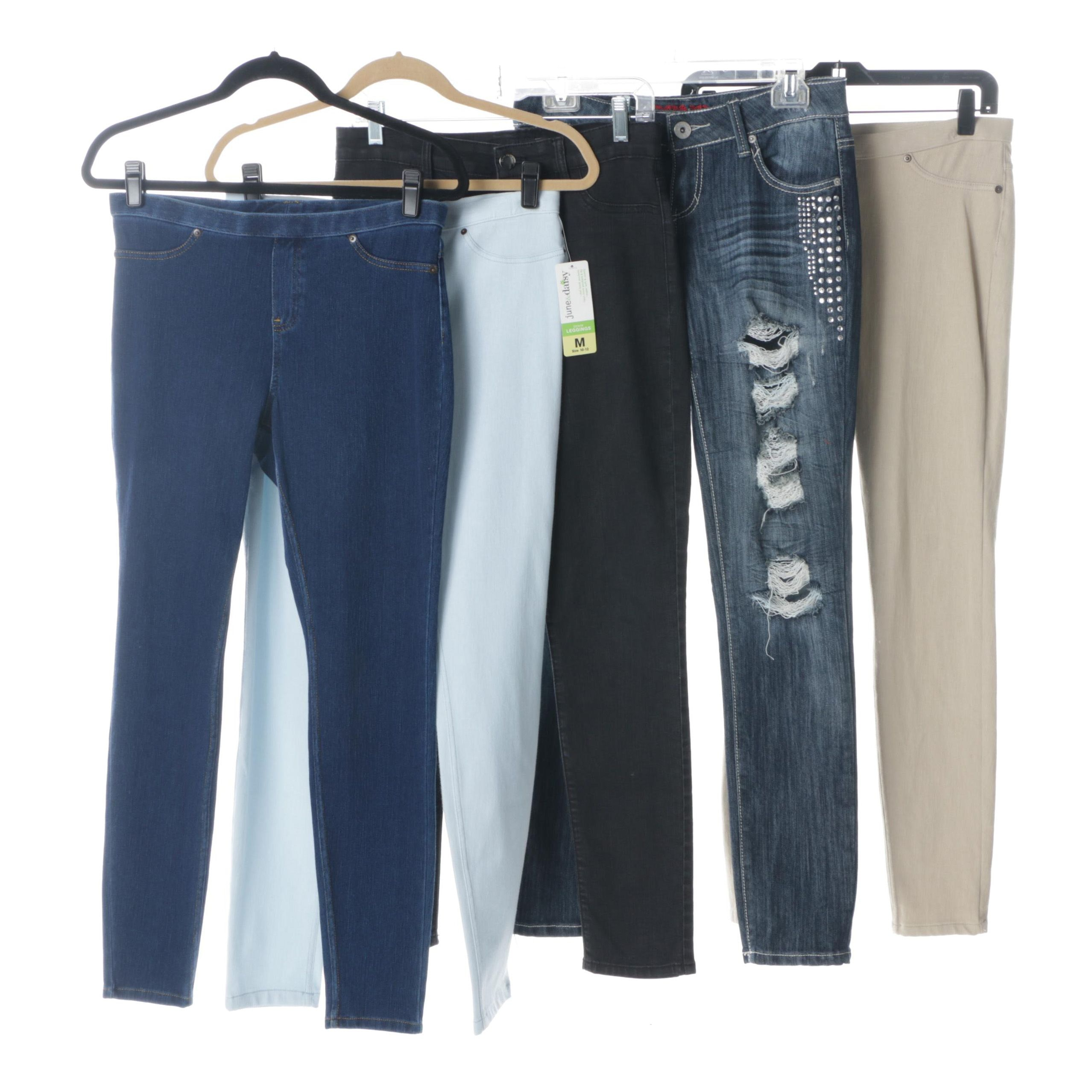 Women's Jeans and Leggings Featuring Calvin Klein