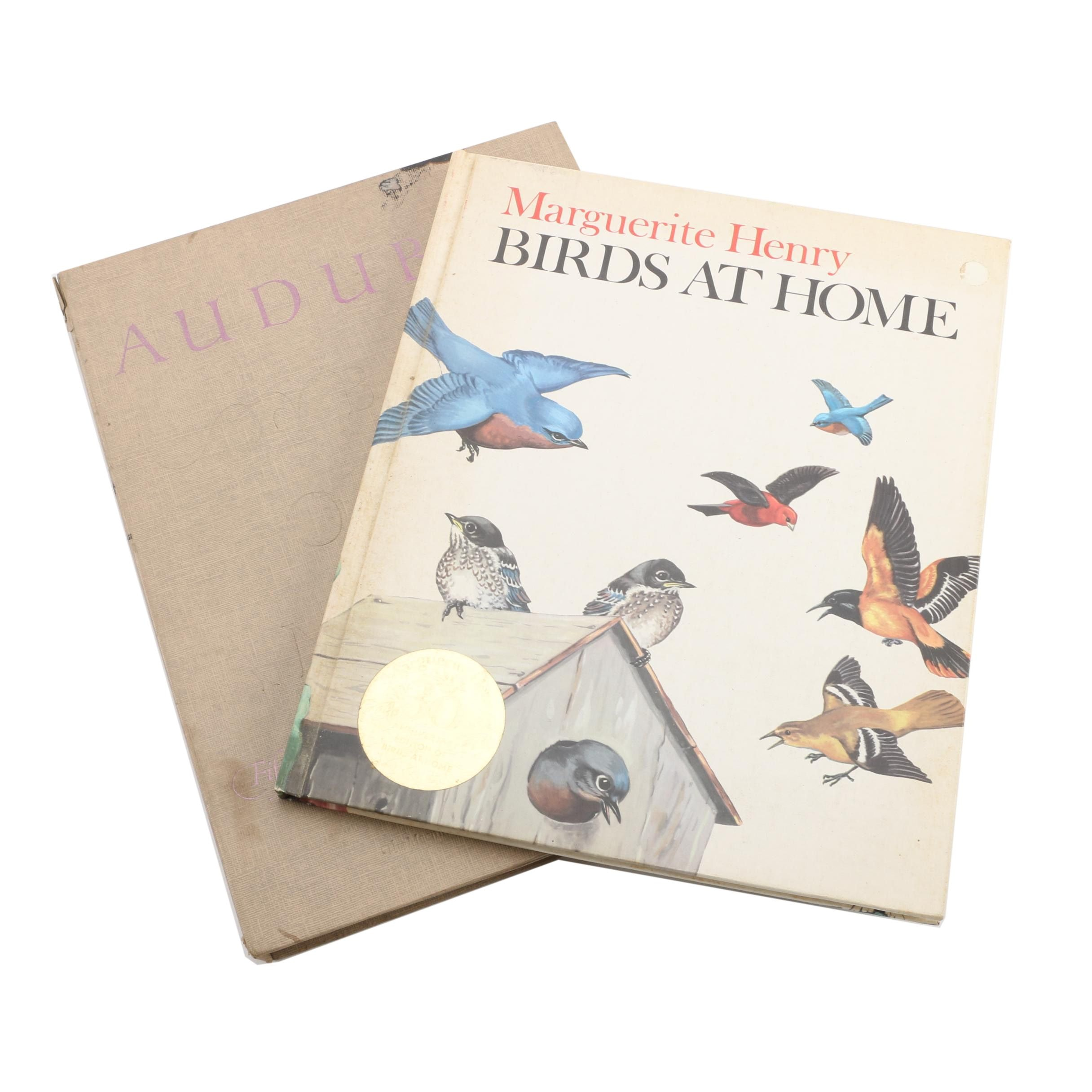 """Audubon Birds of America"" and ""Birds at Home"""