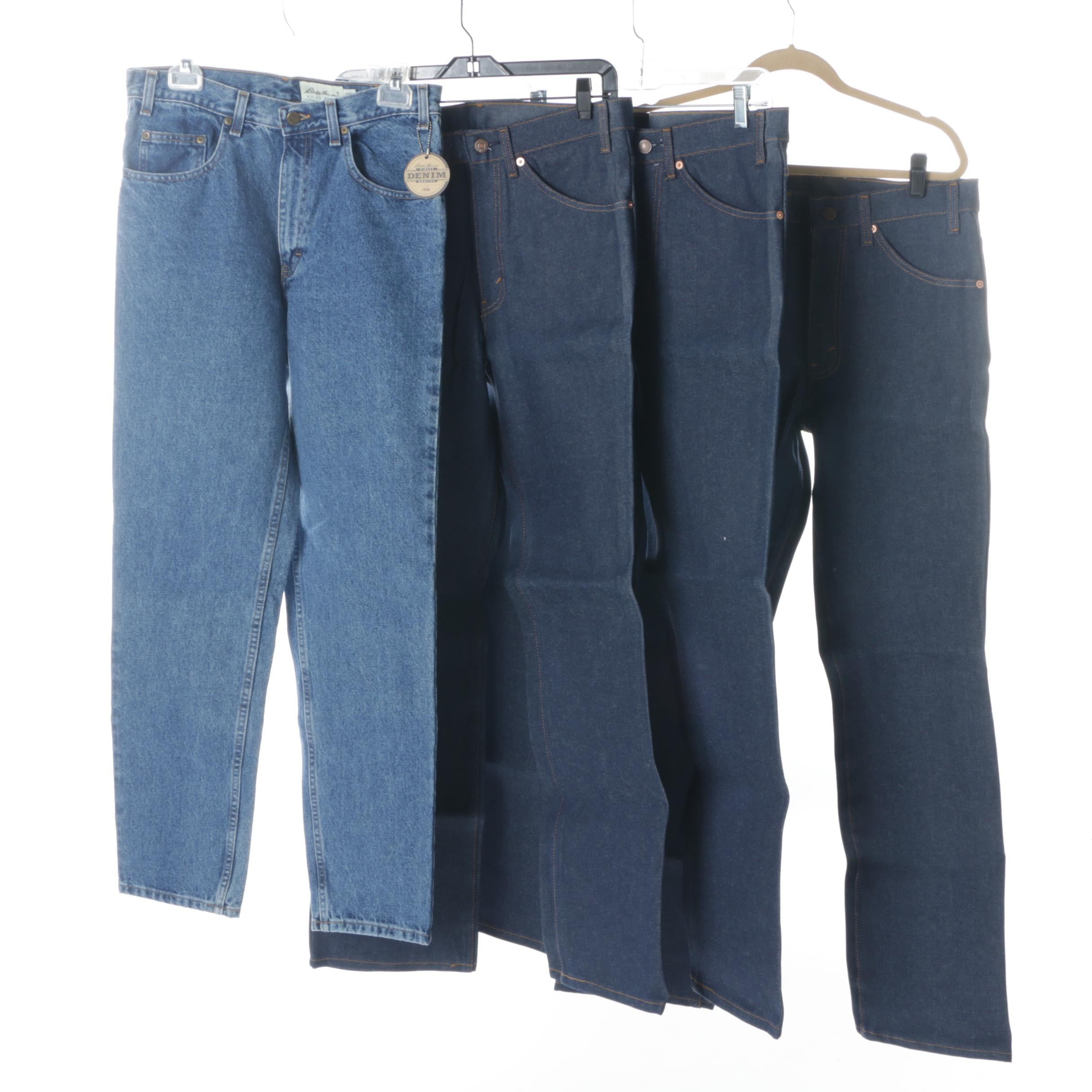 Men's Jeans With Levi's 517