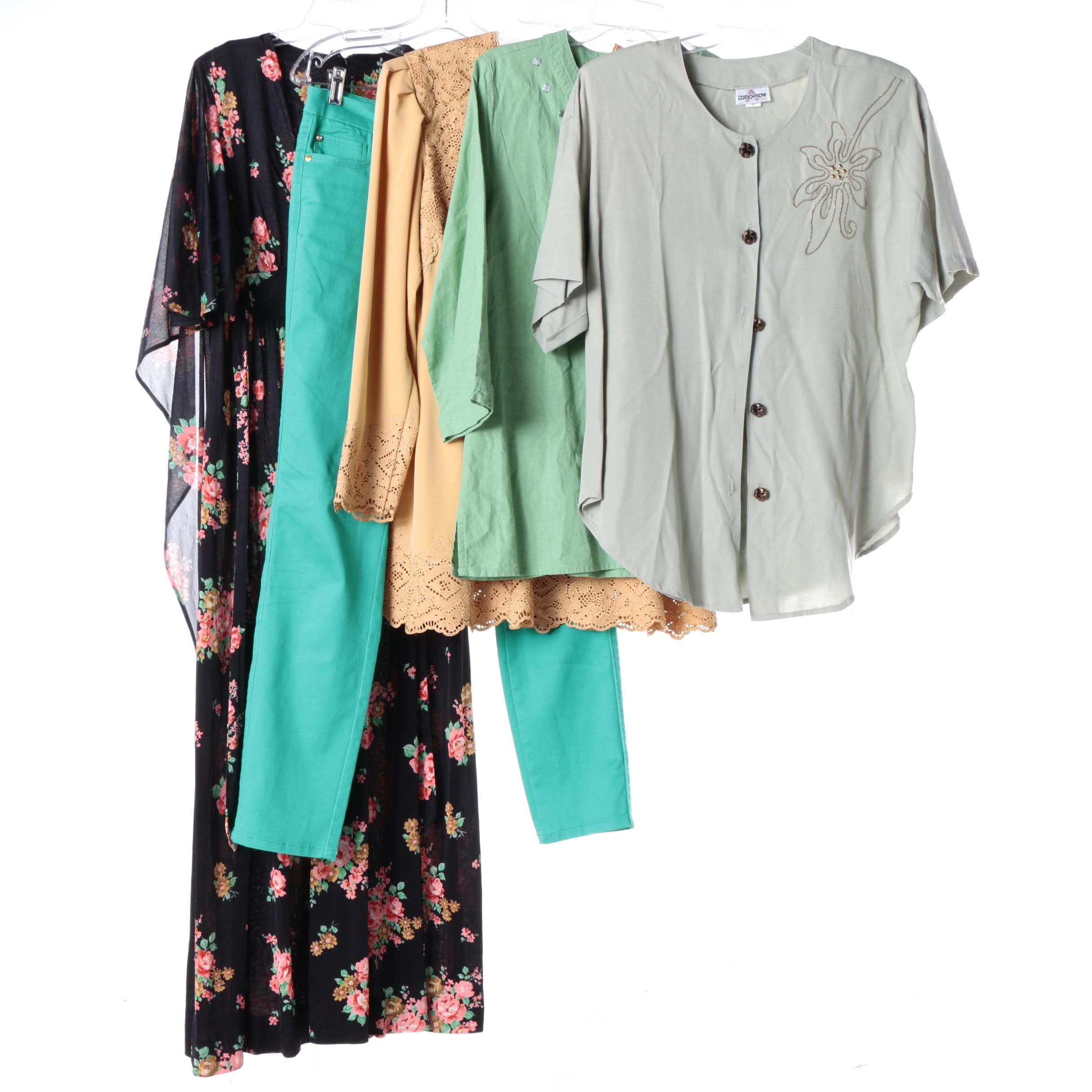 Women's Casual Dress, Tops and Pants