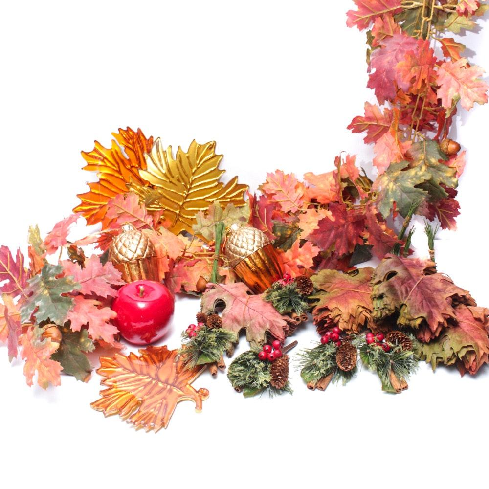 Autumnal Seasonal Decor Collection
