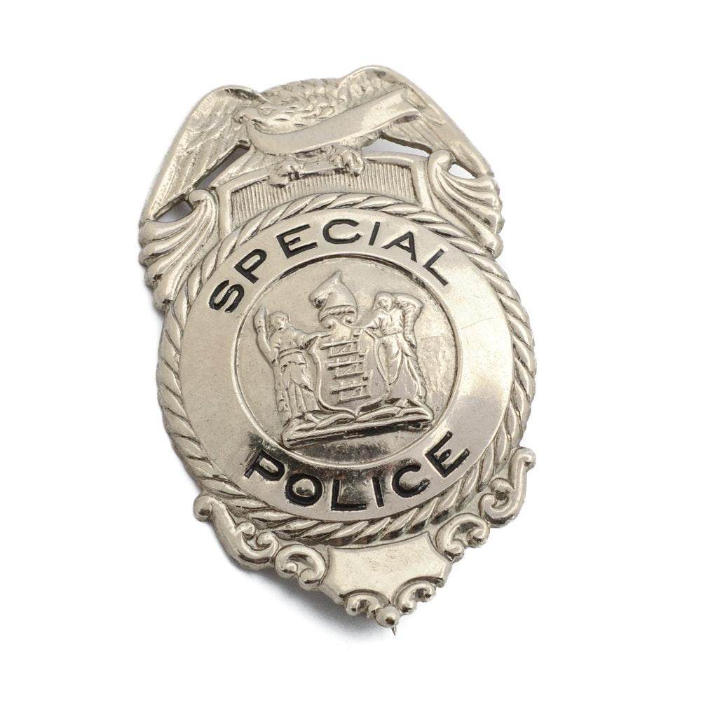 """Vintage Obsolete """"Special Police"""" Badge"""