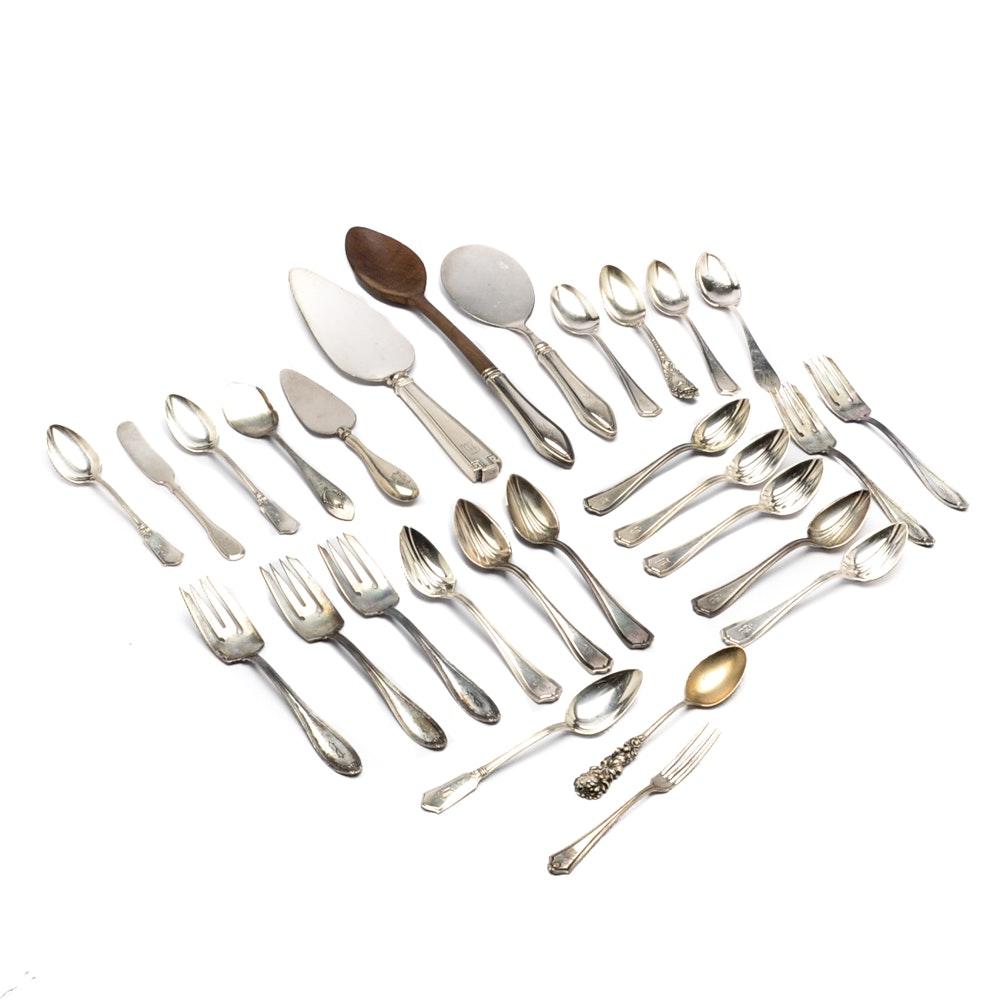 Assorted Sterling Silver Flatware Including Mechanics Sterling Co.