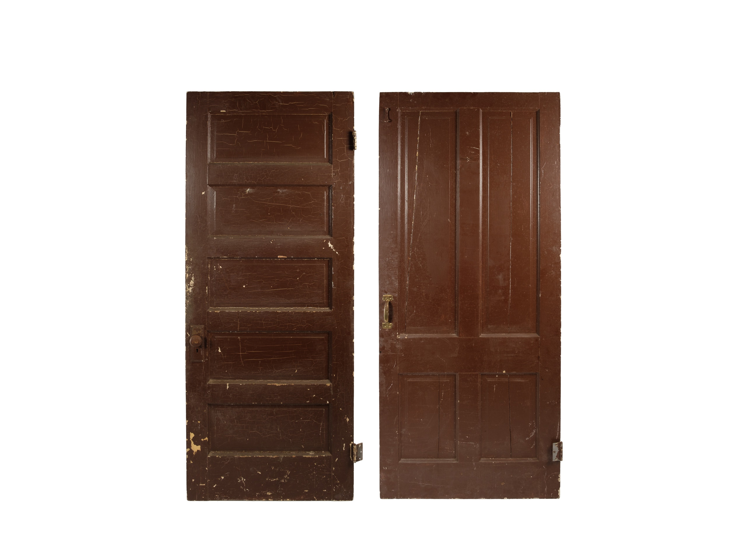 Vintage Wood Paneled Doors ...  sc 1 st  EBTH.com & Vintage Wood Paneled Doors : EBTH