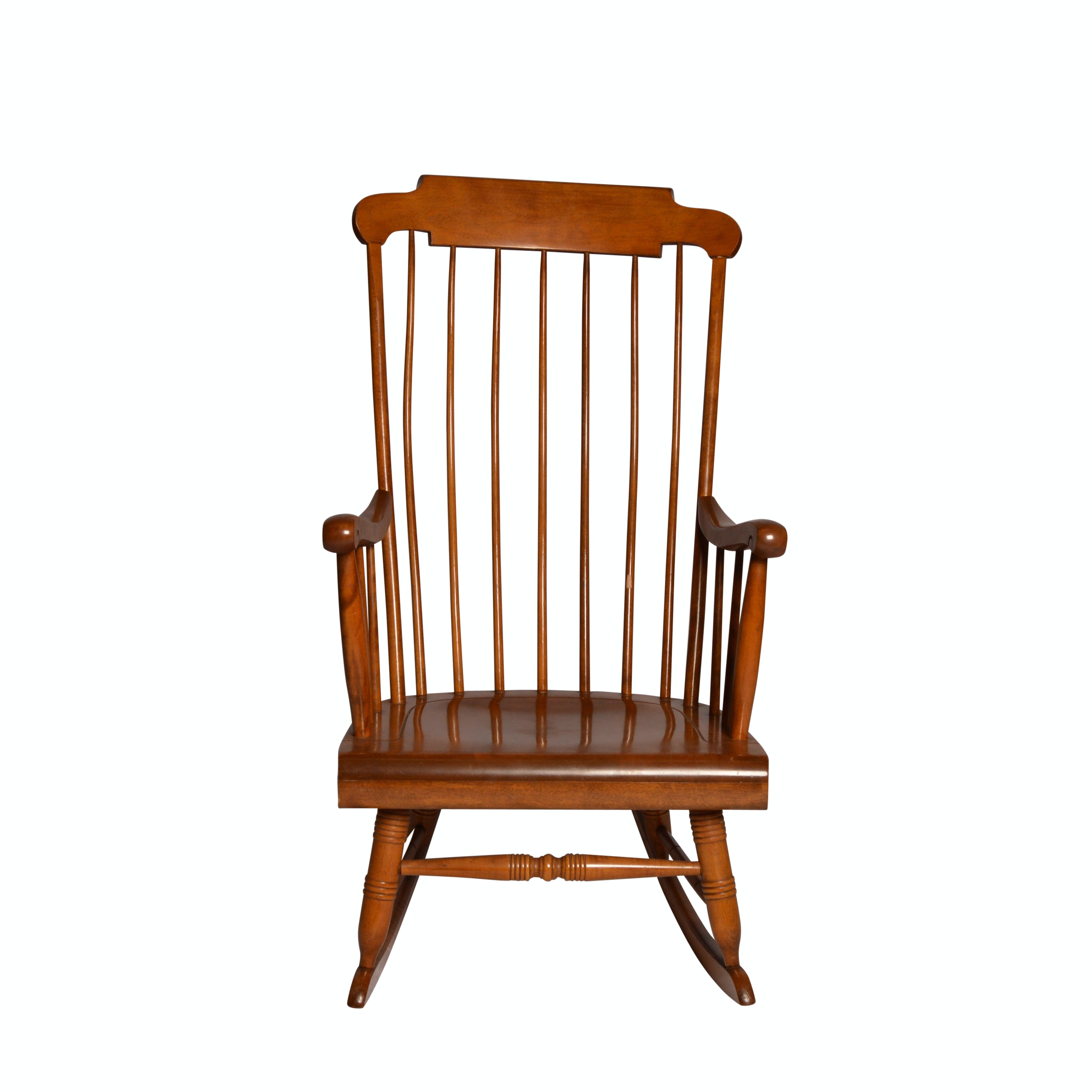 Nichols and Stone Maple Rocking Chair
