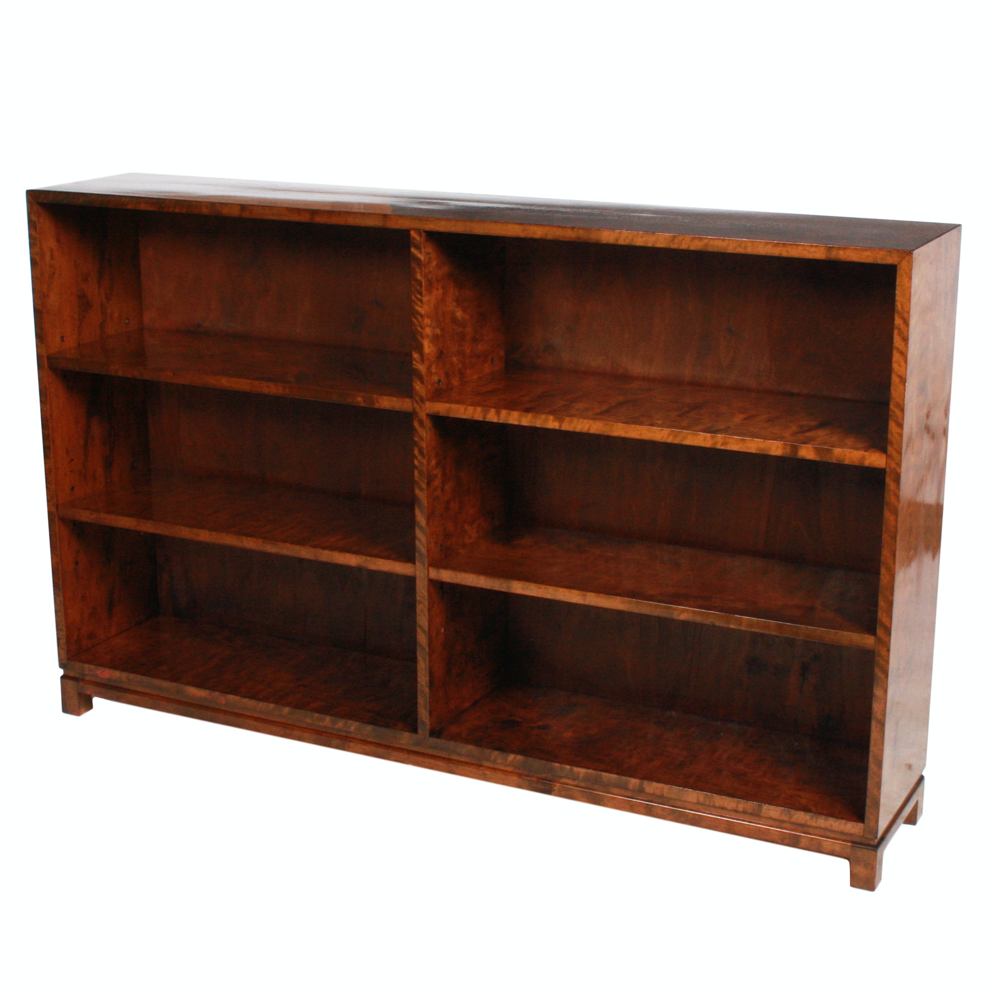 Mid-Century Swedish Birch Bookcase