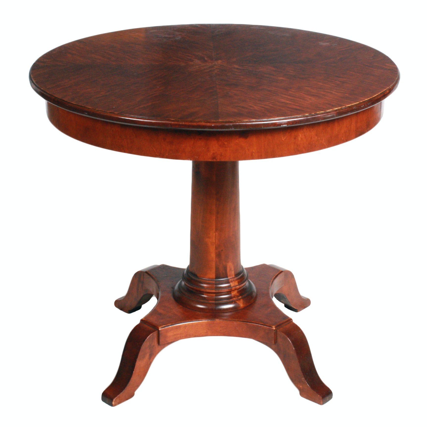 Swedish Biedermeier Style Center Table