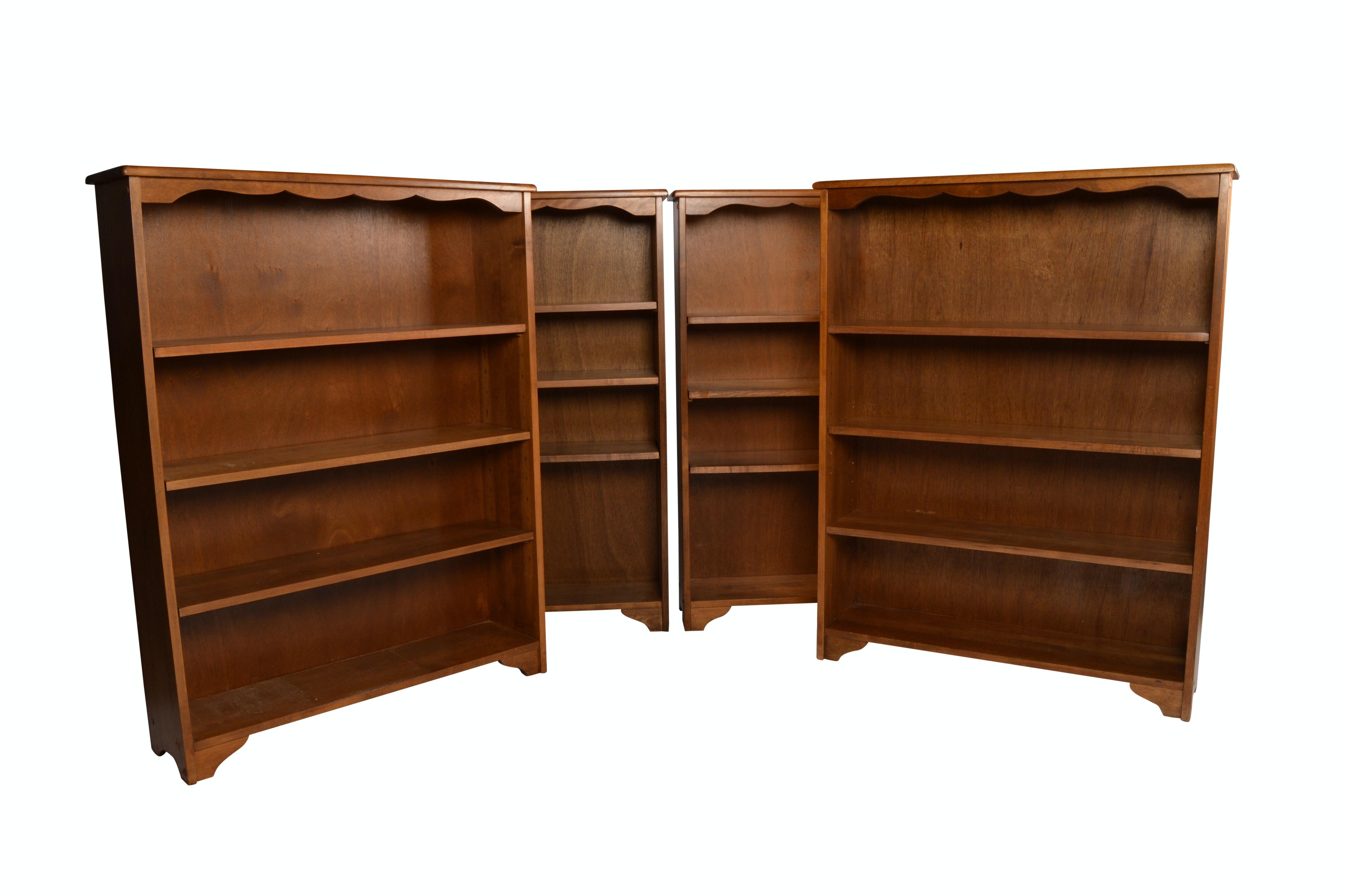 Adjustable Shelf Bookcases