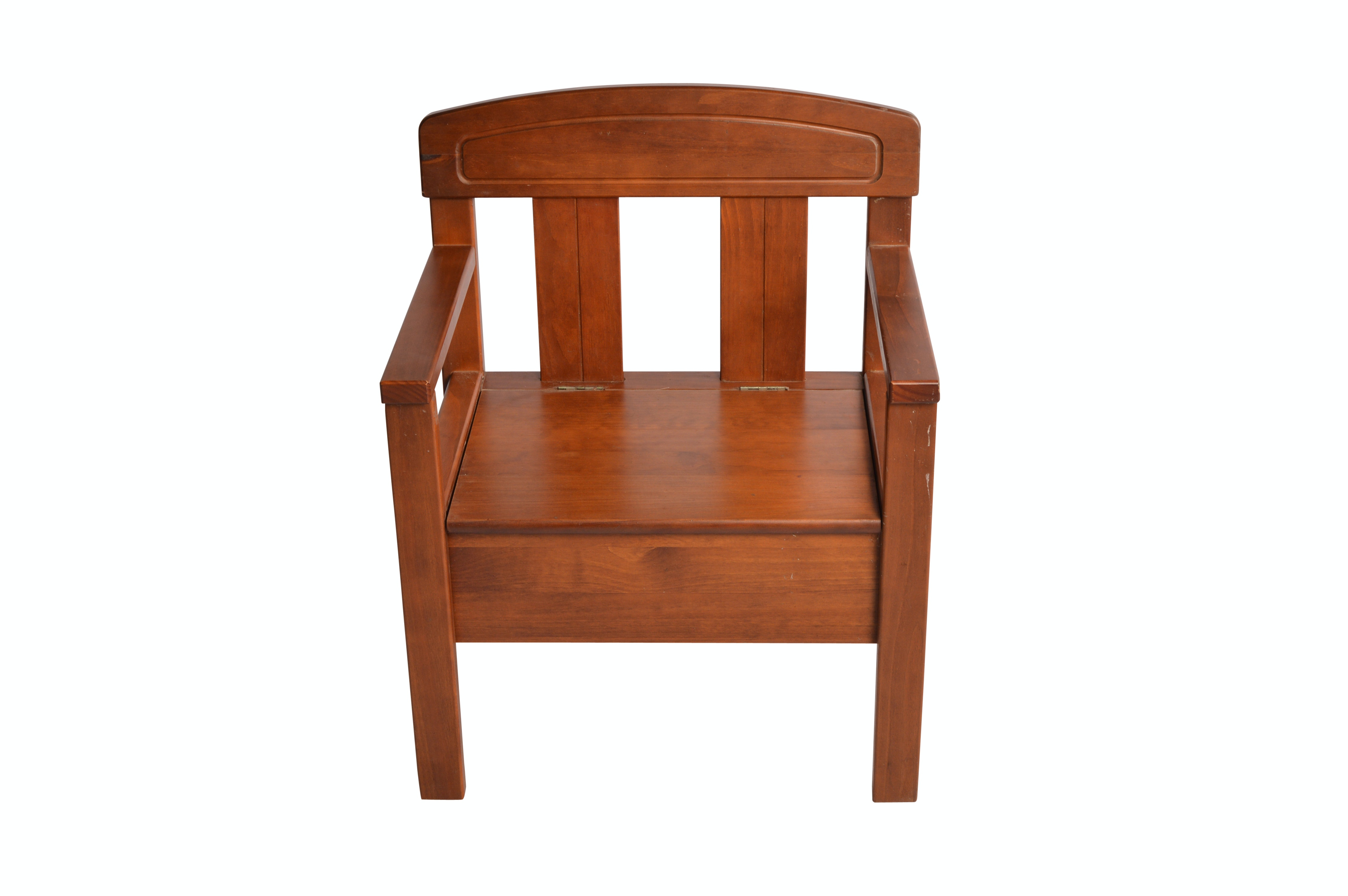 Youth Sized Wooden Chair with Storage Seat
