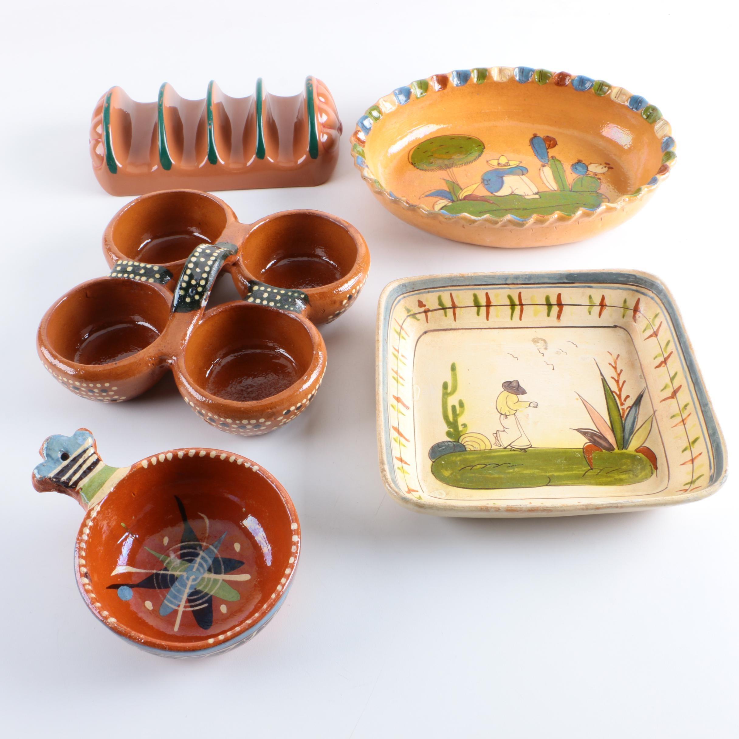 Latin Art Pottery Tableware