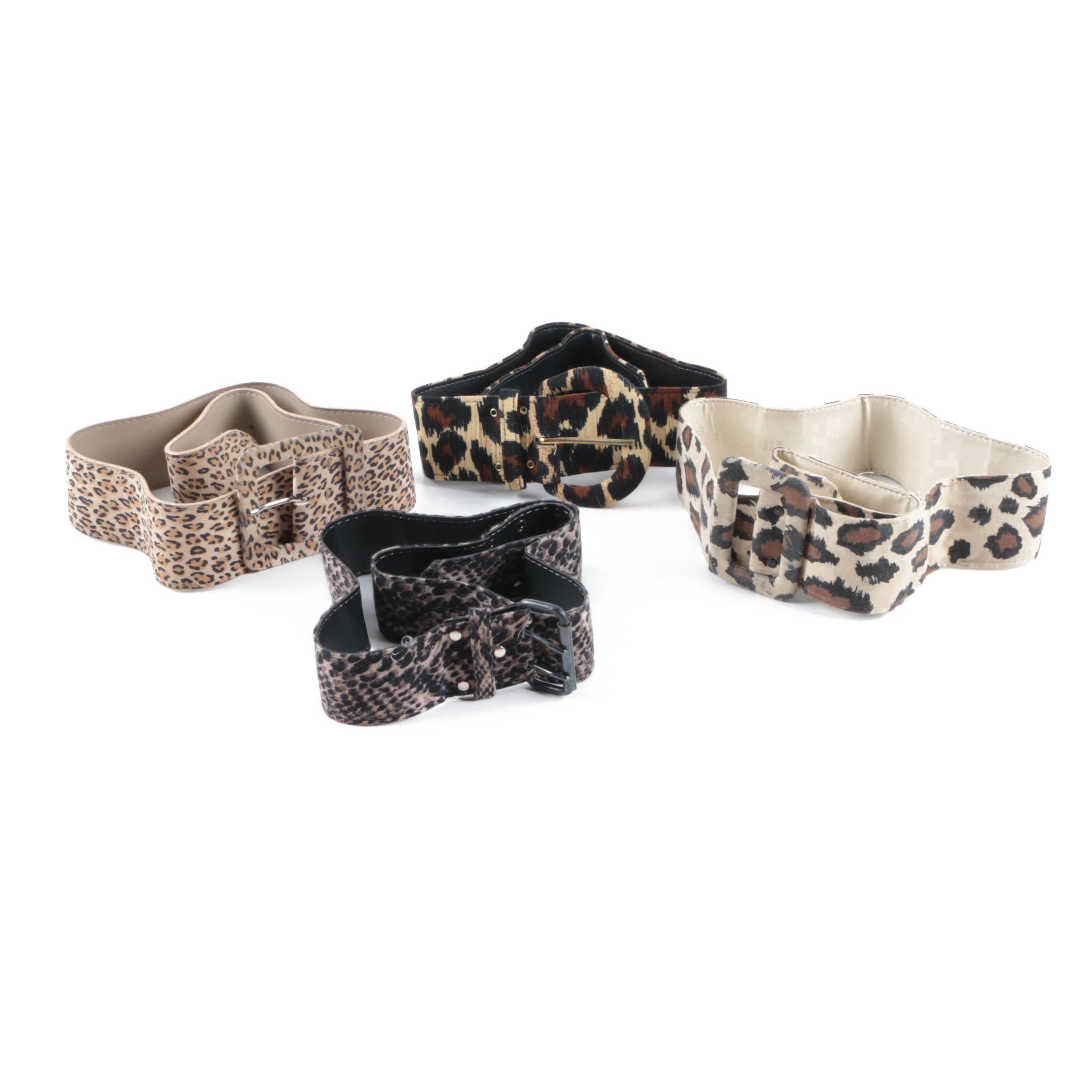 Animal Print Belts Including Accessory Lady