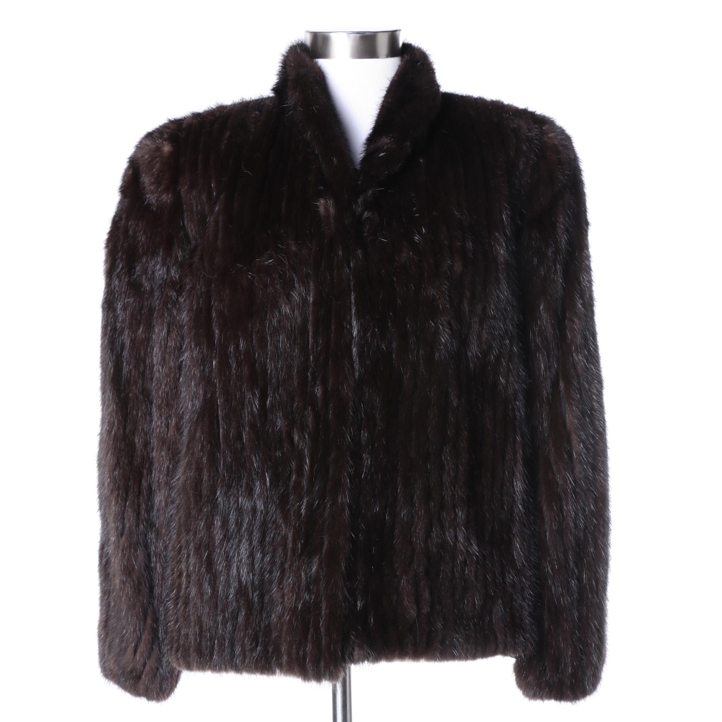 Saga Mink Fur Jacket
