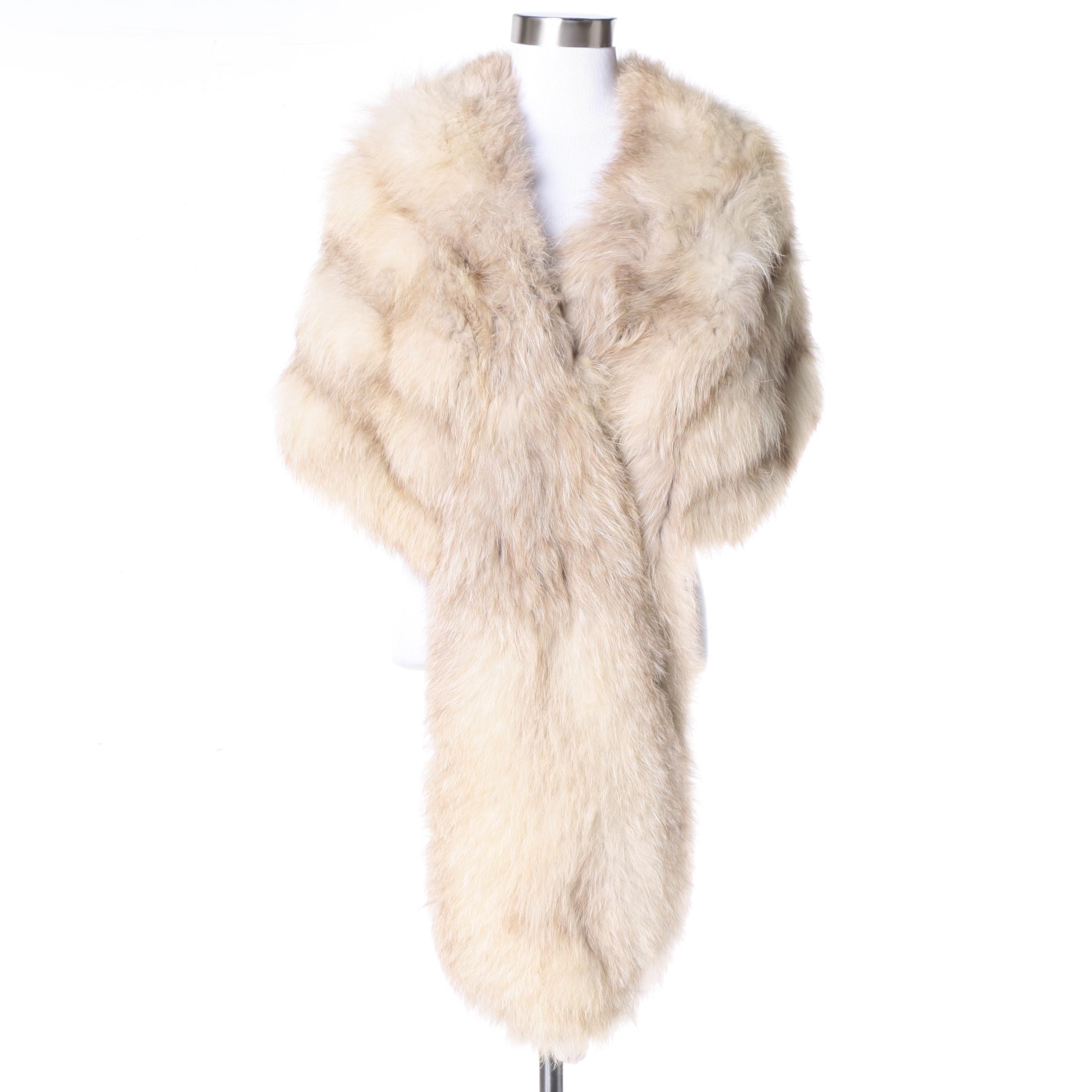 Vintage Fox Fur Stole