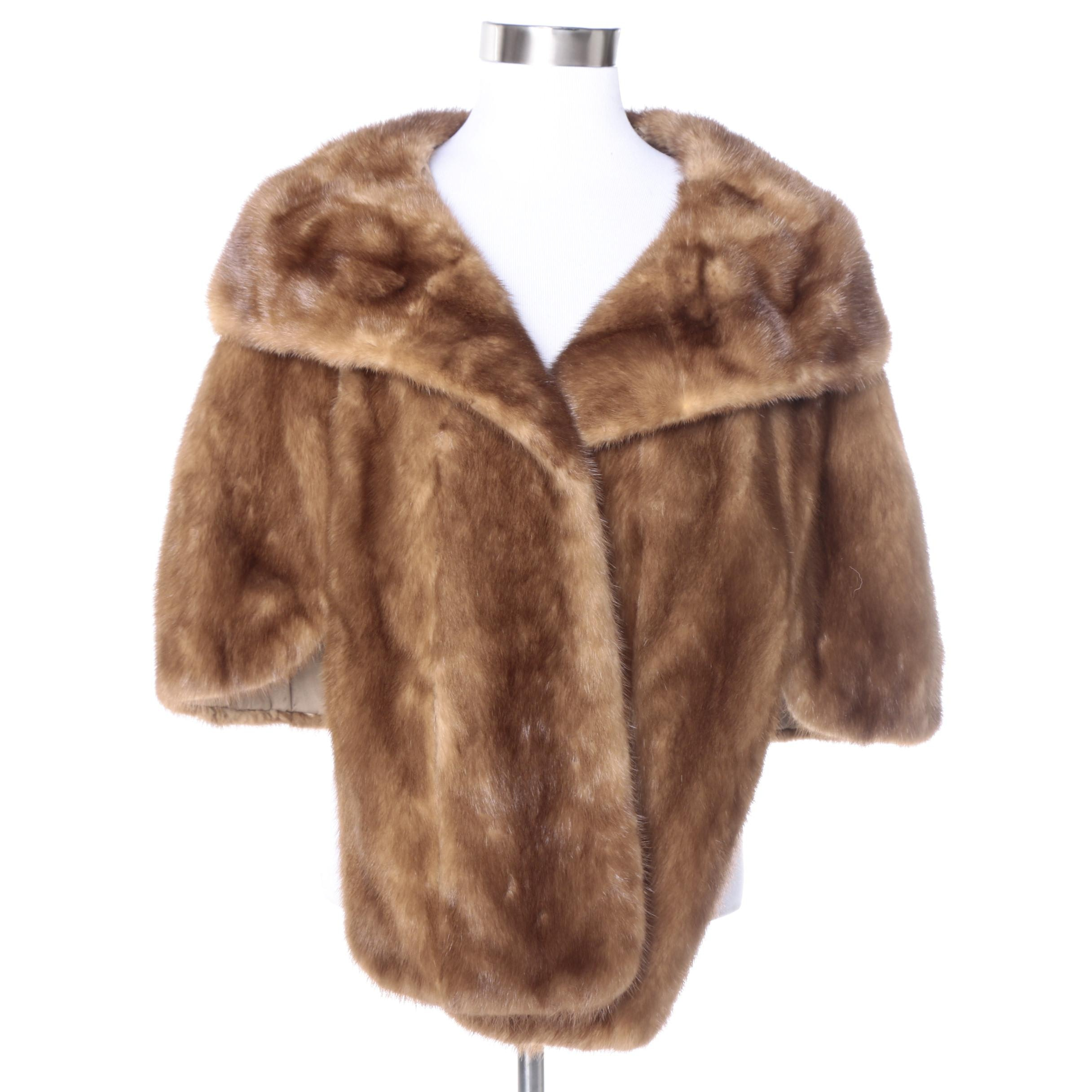 Mink Fur Stole by The Broadway of Southern California