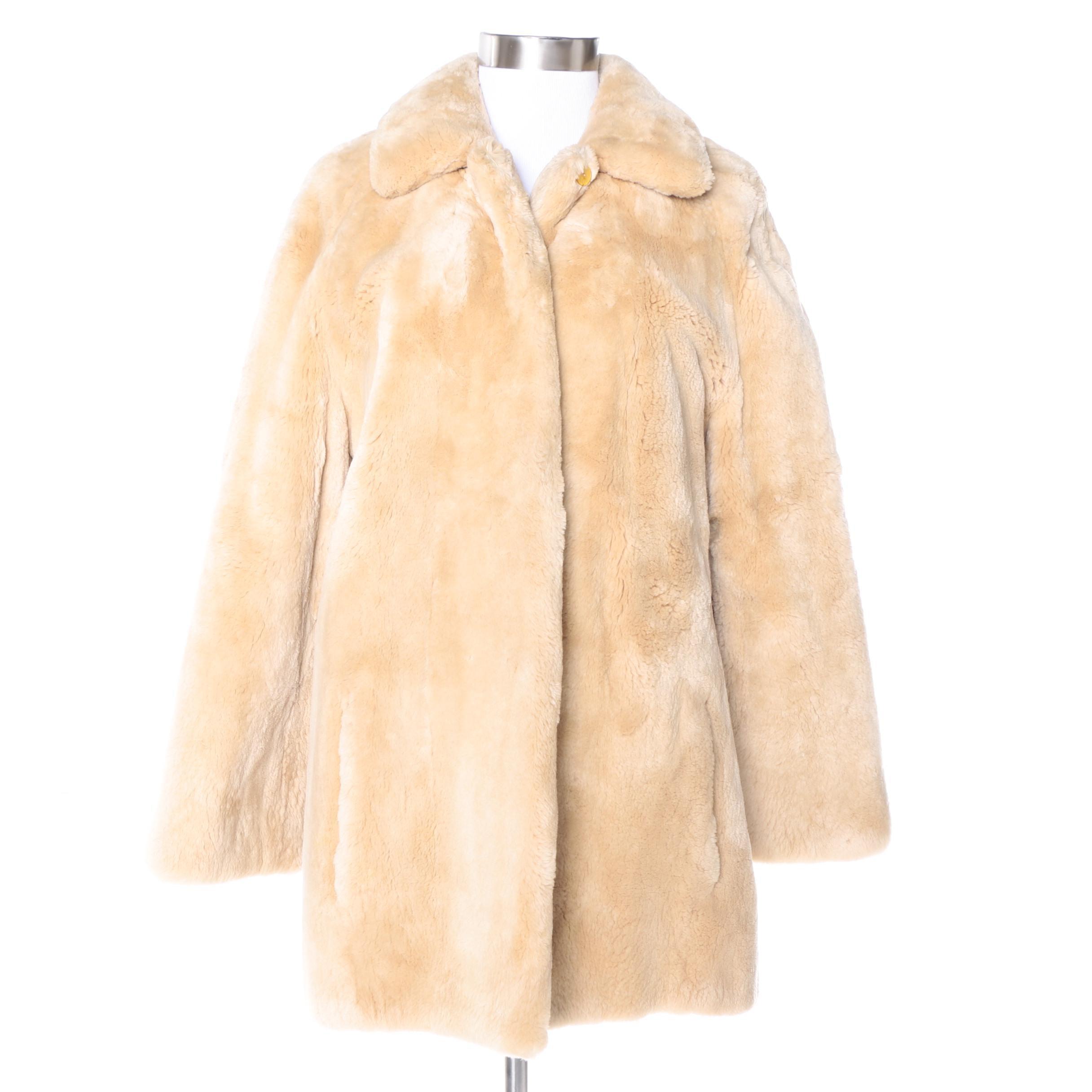 Vintage Ralph Lauren Mouton Coat
