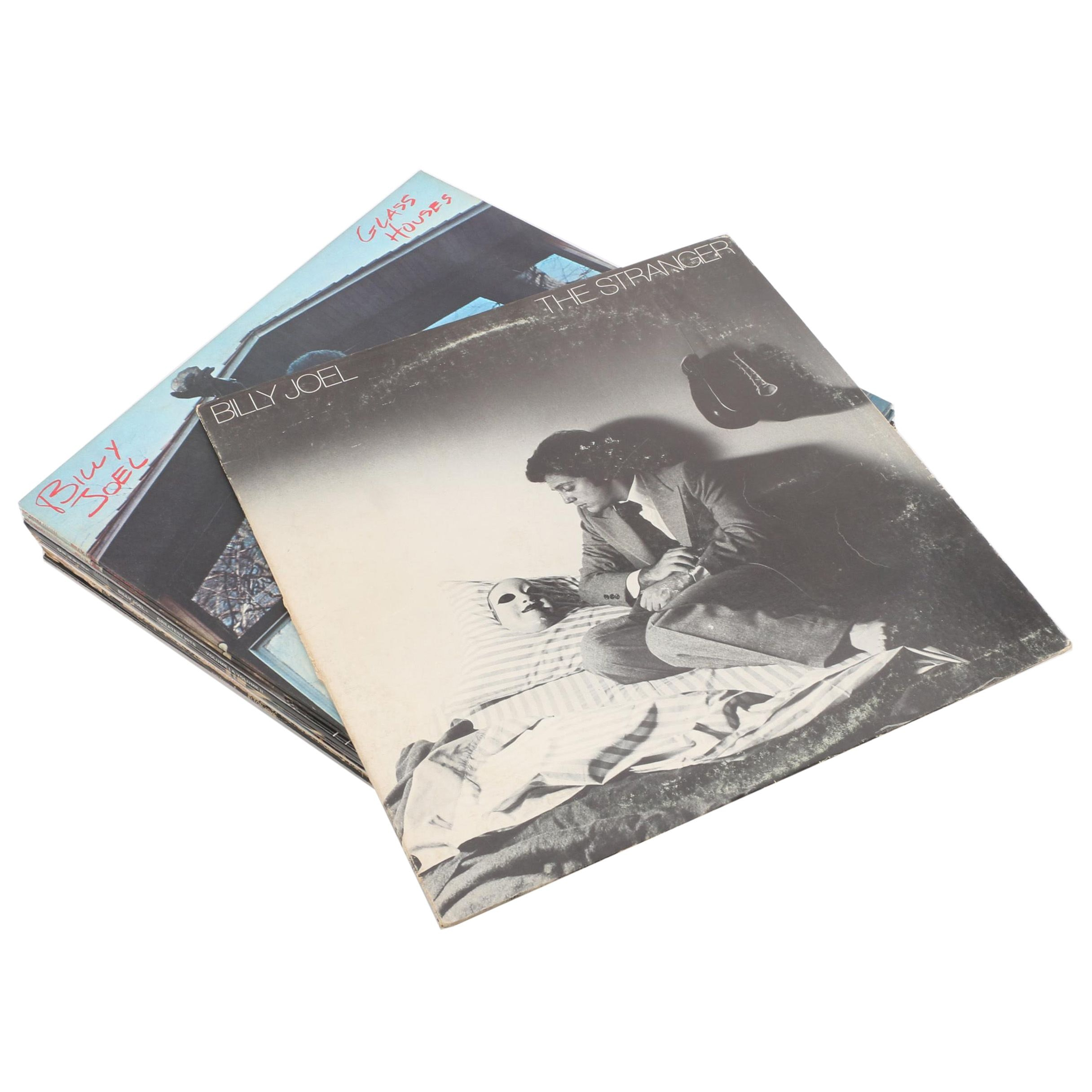 Vintage Rock/Pop Records Featuring Elton John and Billy Joel
