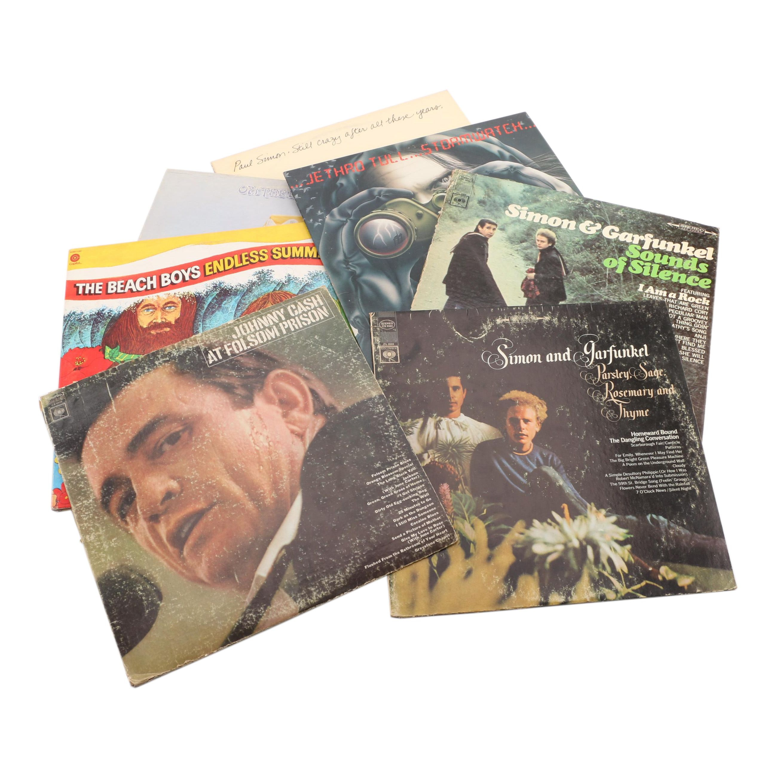 Classical Records Featuring The Beach Boys and Johnny Cash