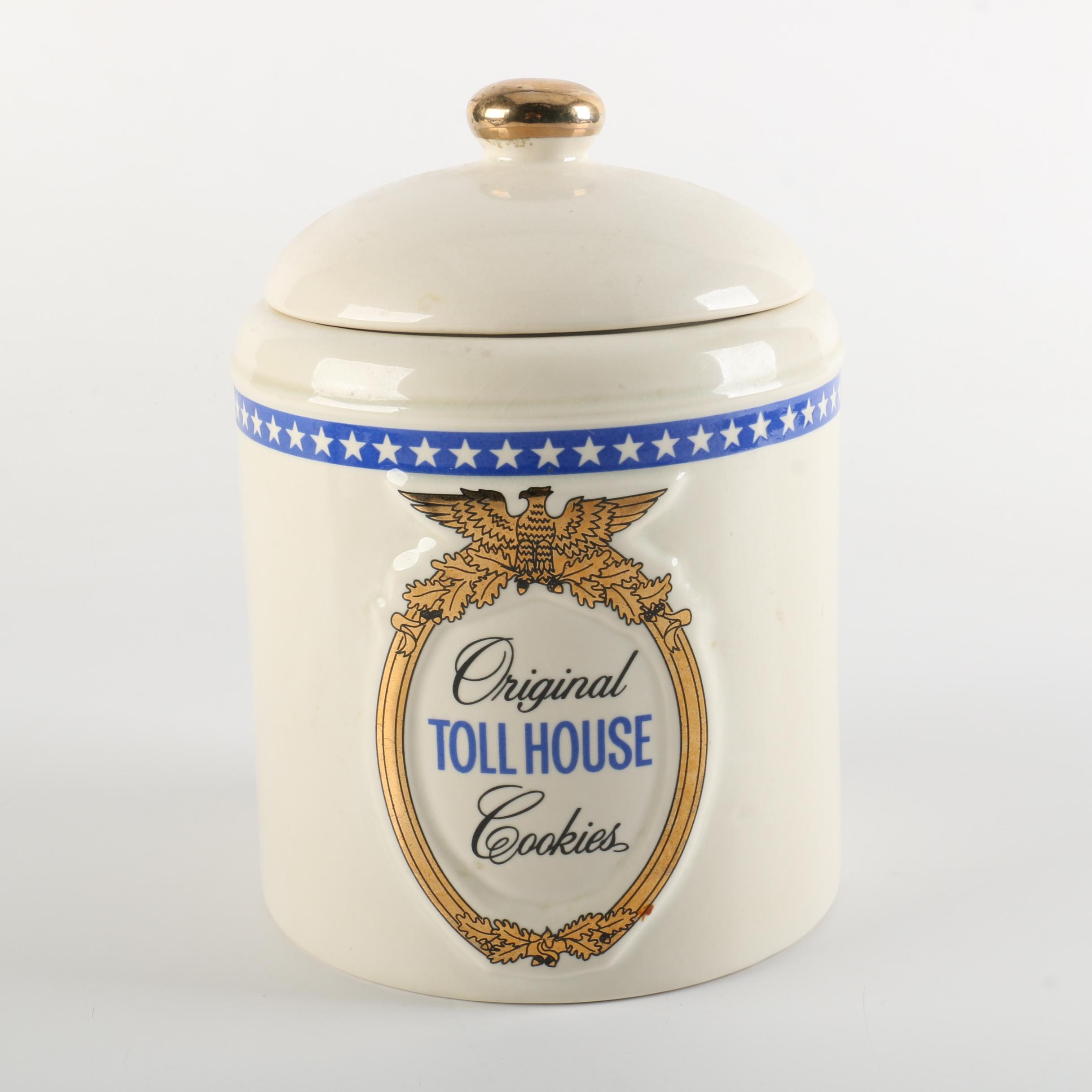 Vintage Toll House Cookie Jar
