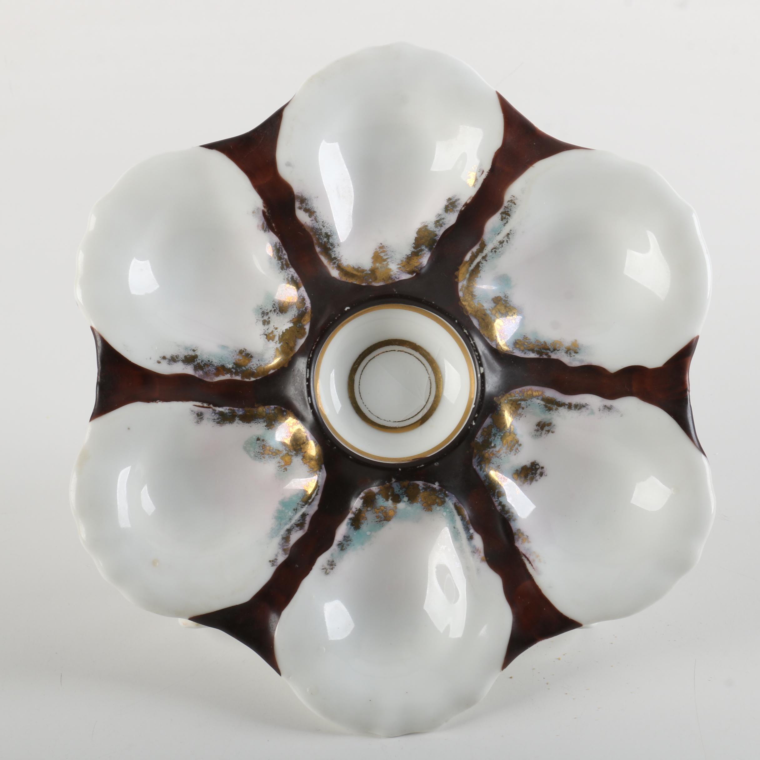 Porcelain Oyster Dish