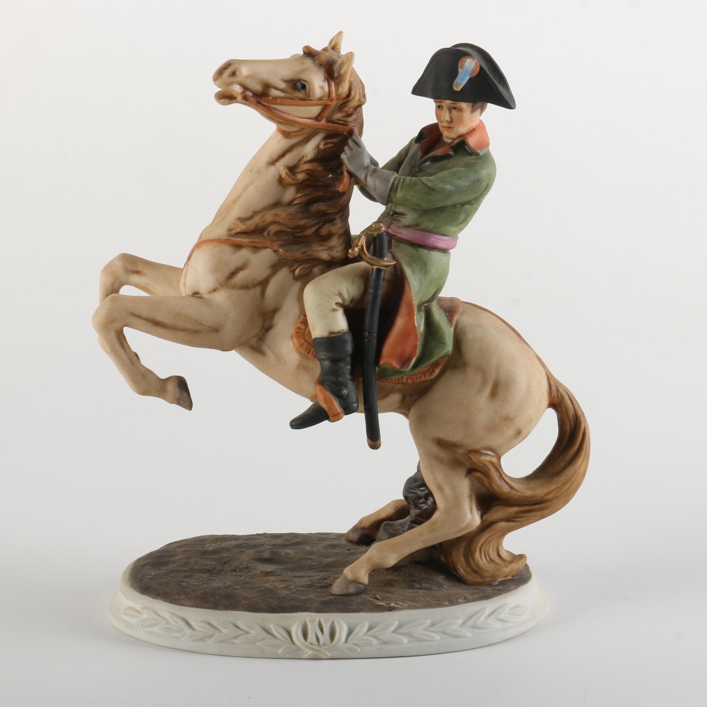 Marks and Rosenfield Porcelain Napoleon Figurine
