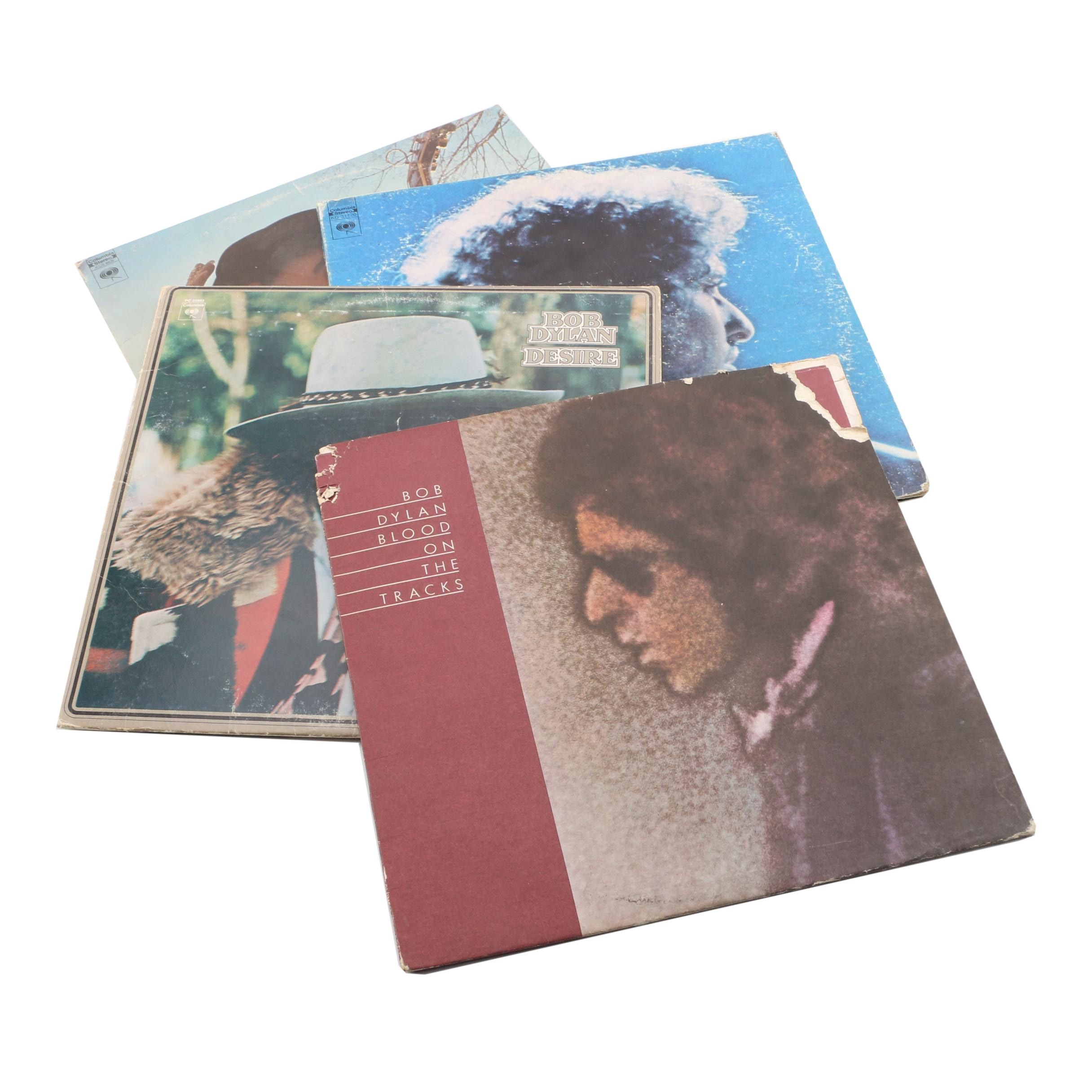 Bob Dylan Records Featuring Blood On The Tracks