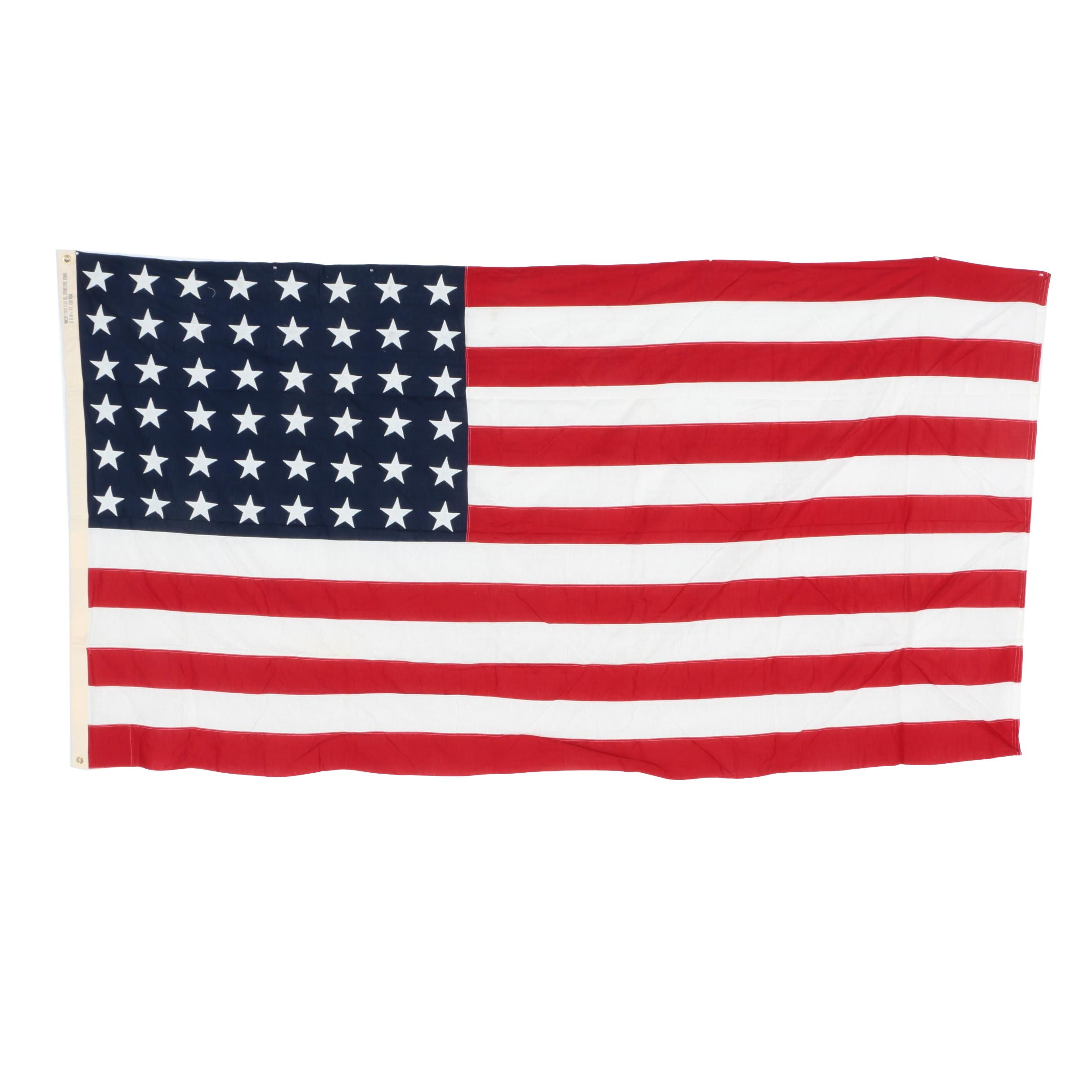 Forty Eight Star United States Flag
