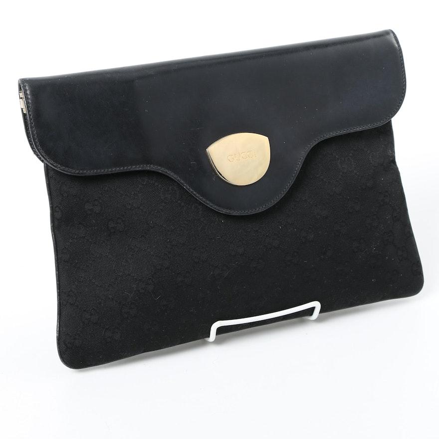 9e3a1c50ae9 1980s Gucci Envelope Clutch   EBTH