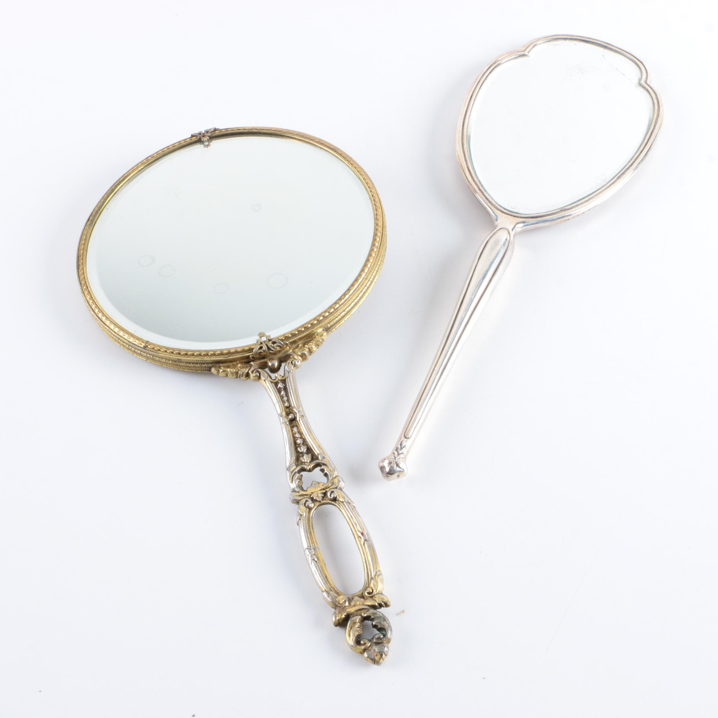 1936 Charles S Green & Co. Sterling Silver Hand Mirror and More