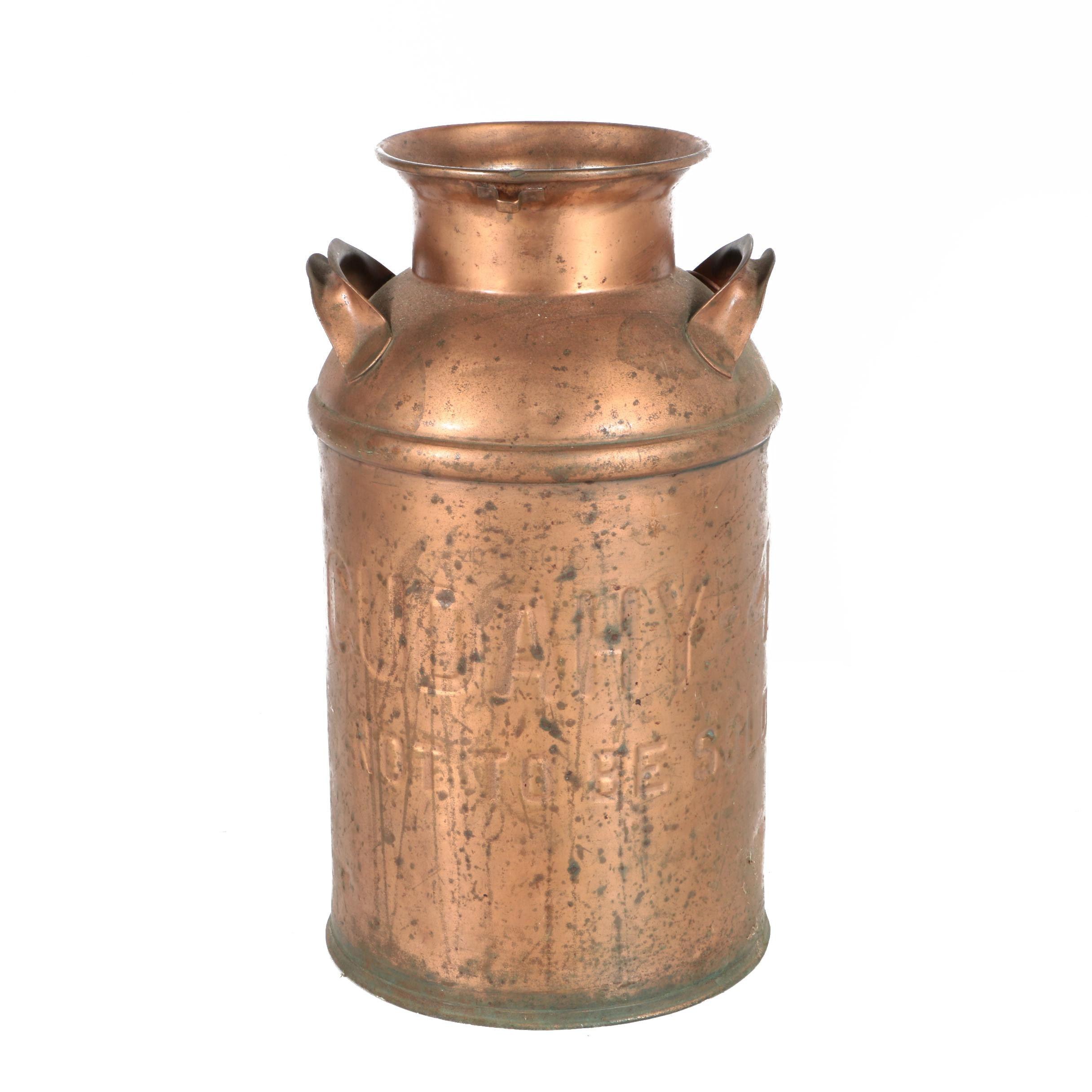 Vintage Cudahy Milk Can