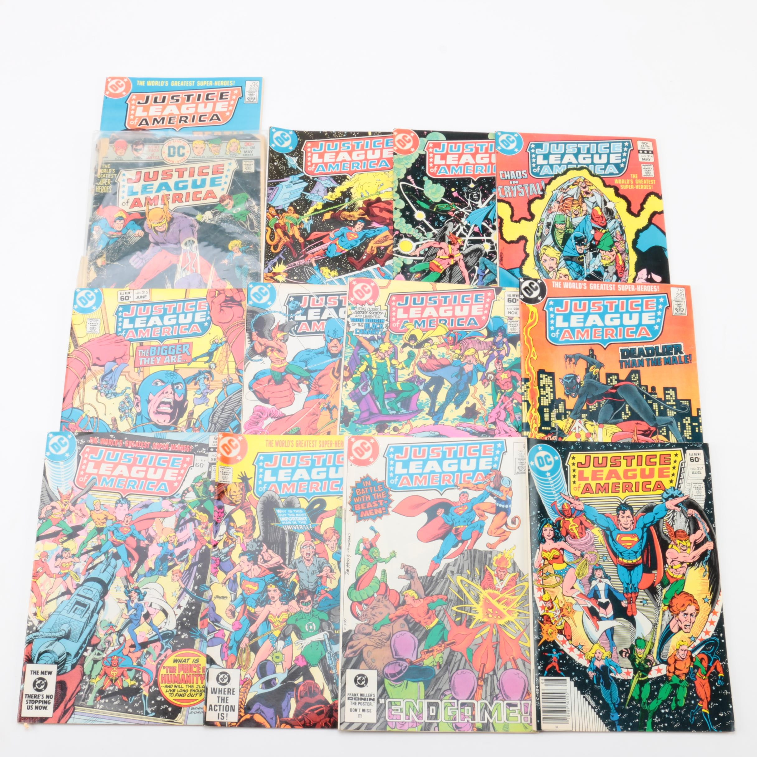 "Bronze Age DC ""Justice League of America"" Comic Books"