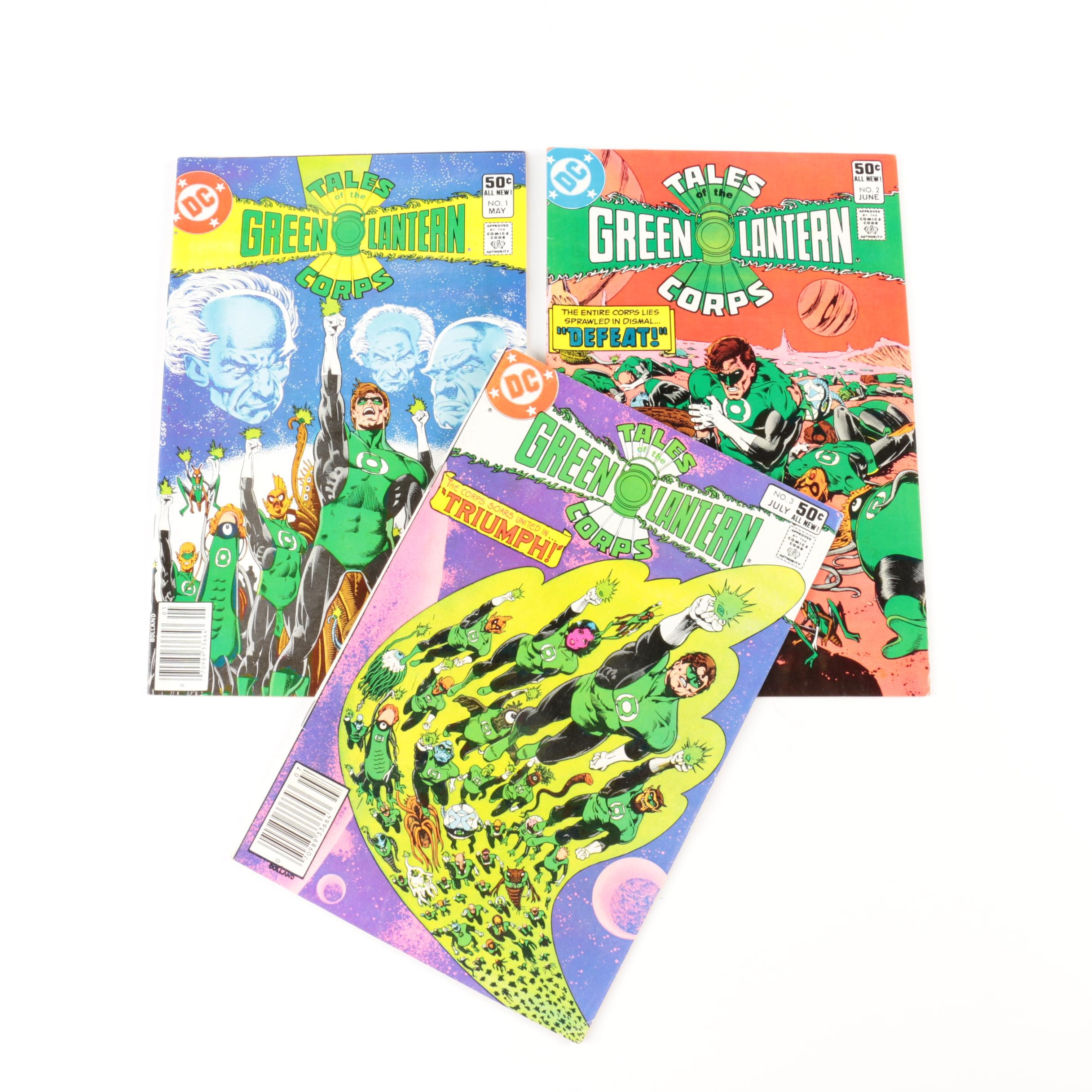 "DC ""Tales of the Green Lantern Corps"" Comic Books Issues One Through Three"