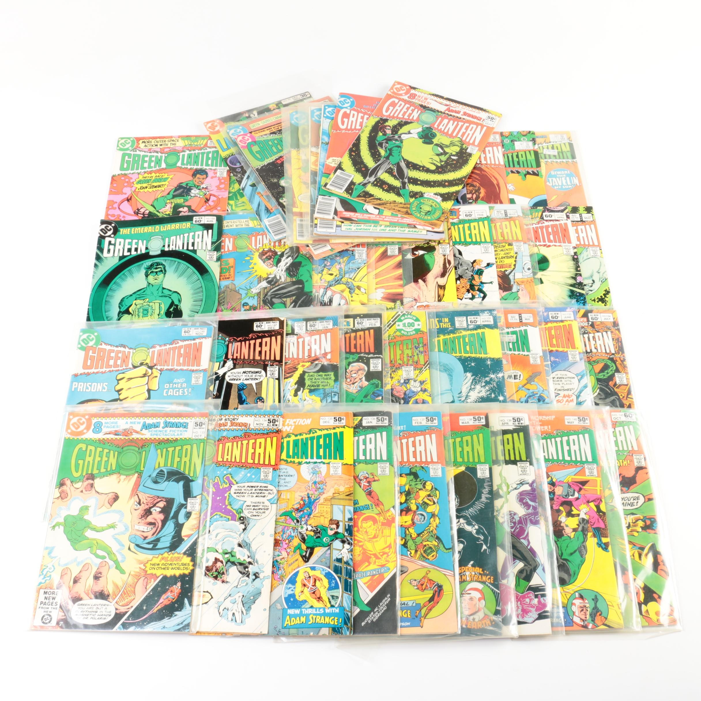 "Bronze Age DC ""Green Lantern"" Comic Books"
