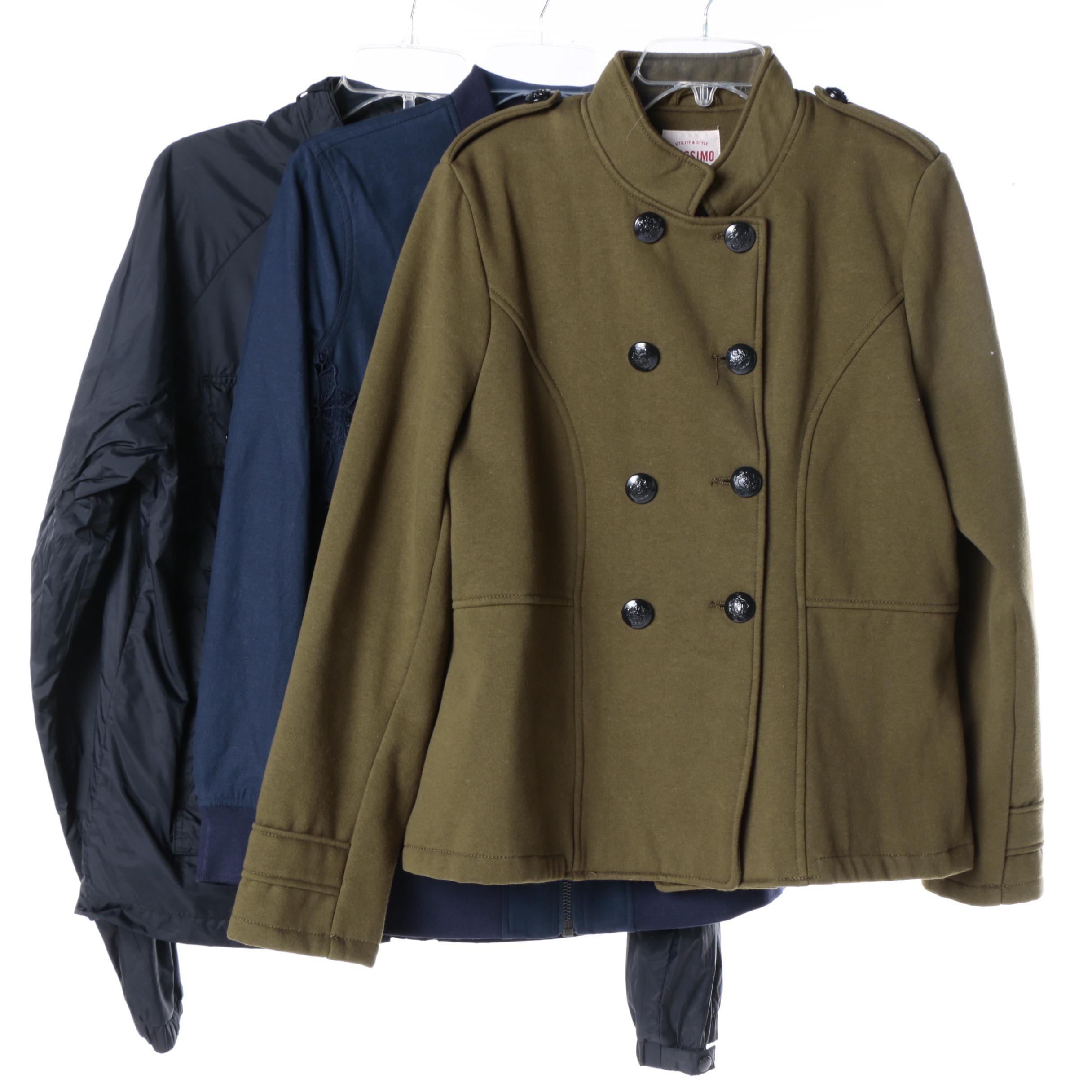 Women's Jackets Including Lacoste L!ve